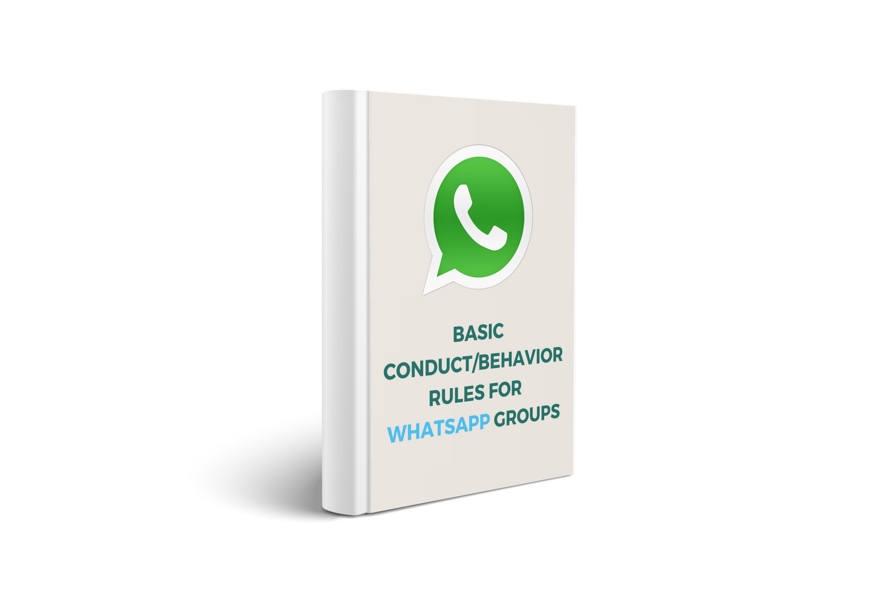 A proposal of basic conduct/behavior rules for WhatsApp Groups