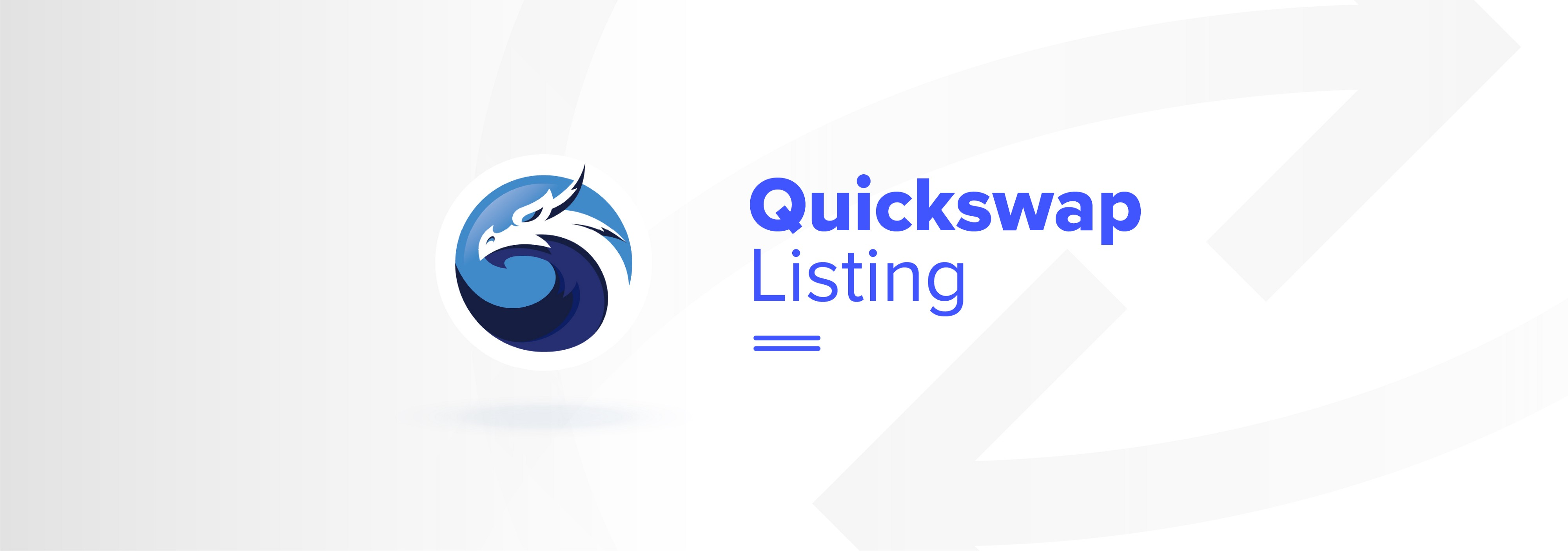 RCN is listed in the largest decentralized exchange of the Polygon Network, Quickswap.