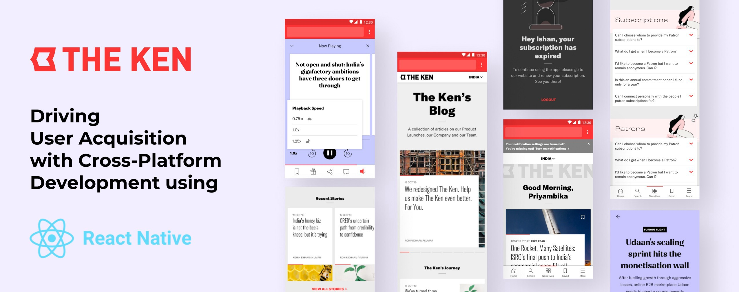 How we built a subscription-only business news app, The Ken?