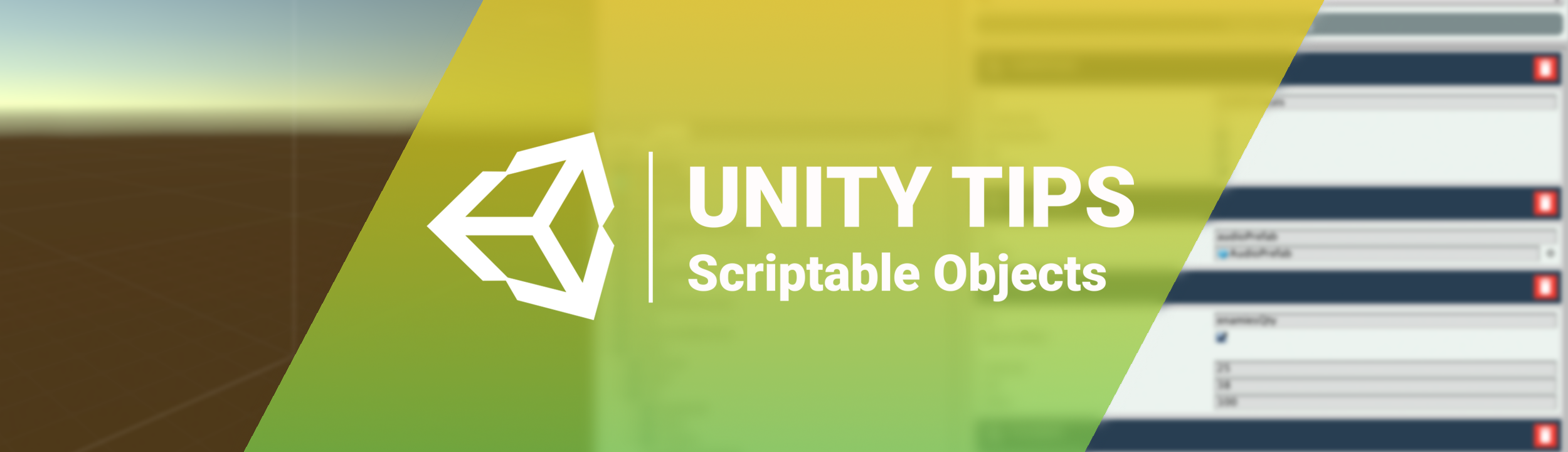 Unity Tips: Scriptable Objects - Martin Gonzalez - Medium