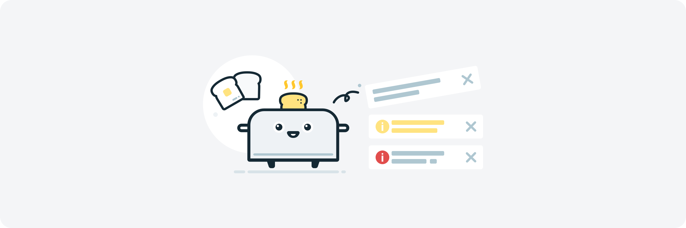 Toasts Or Snack Bars Designing Organic Notifications By Shan Shen Ux Collective