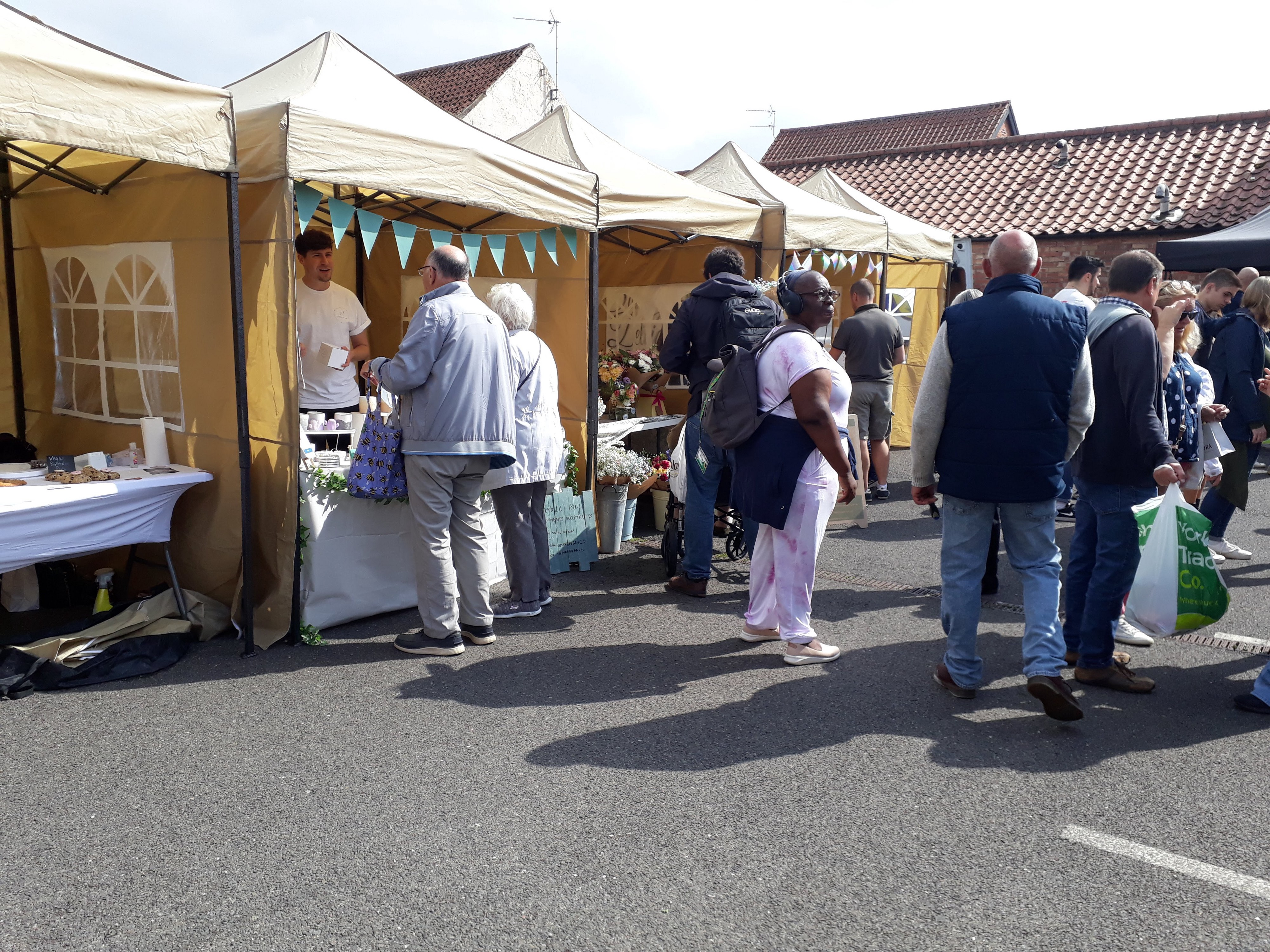Millstream Square Street Food and Artisan Market in Sleaford