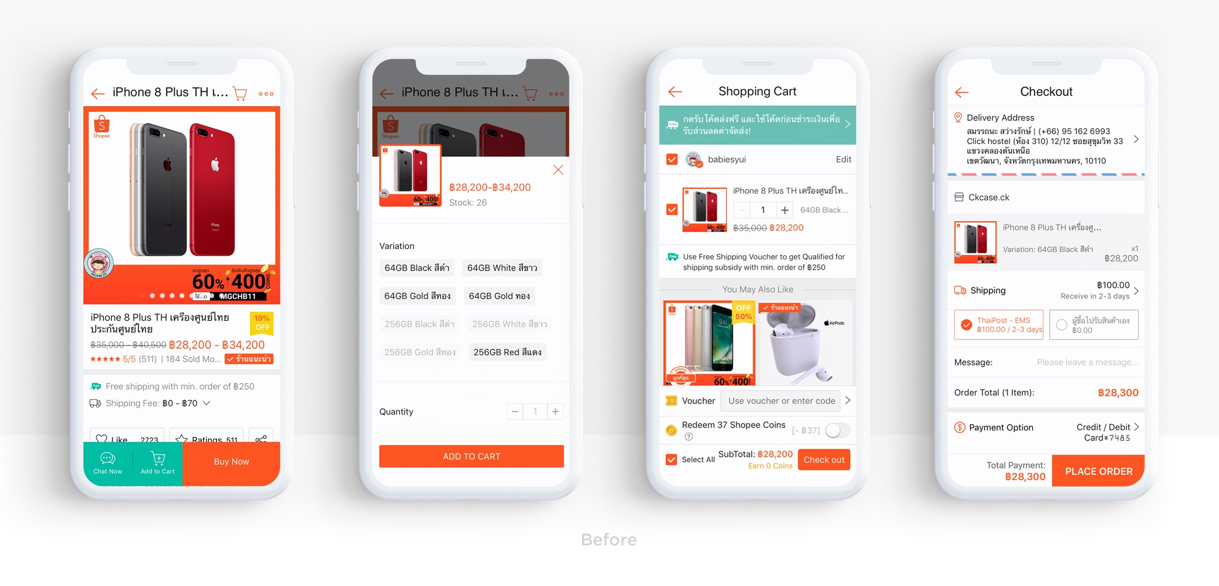 Redesigning an e-commerce app for Shopee — a UX case study