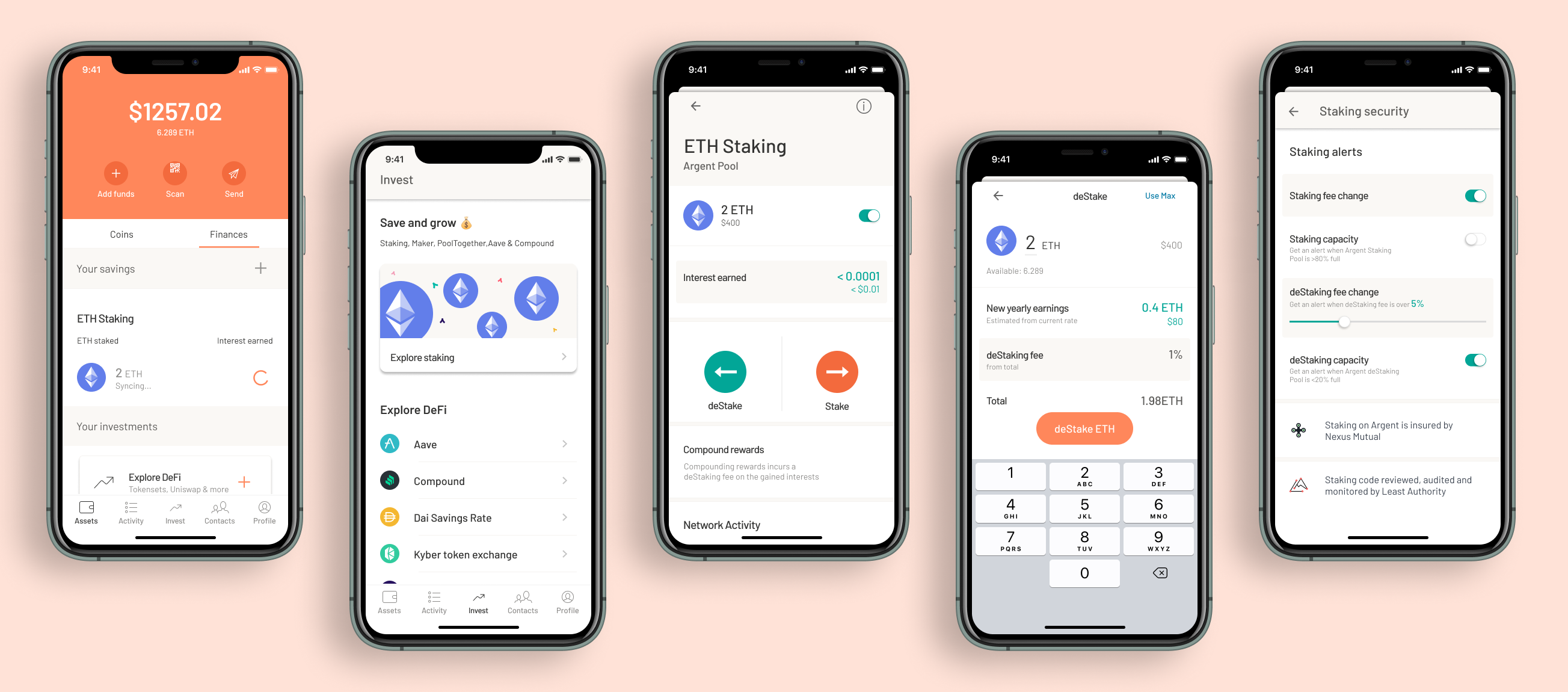 ETH2 Staking on Argent. Design for an ETH2 staking solution…   by  heyheeyheeey   Medium