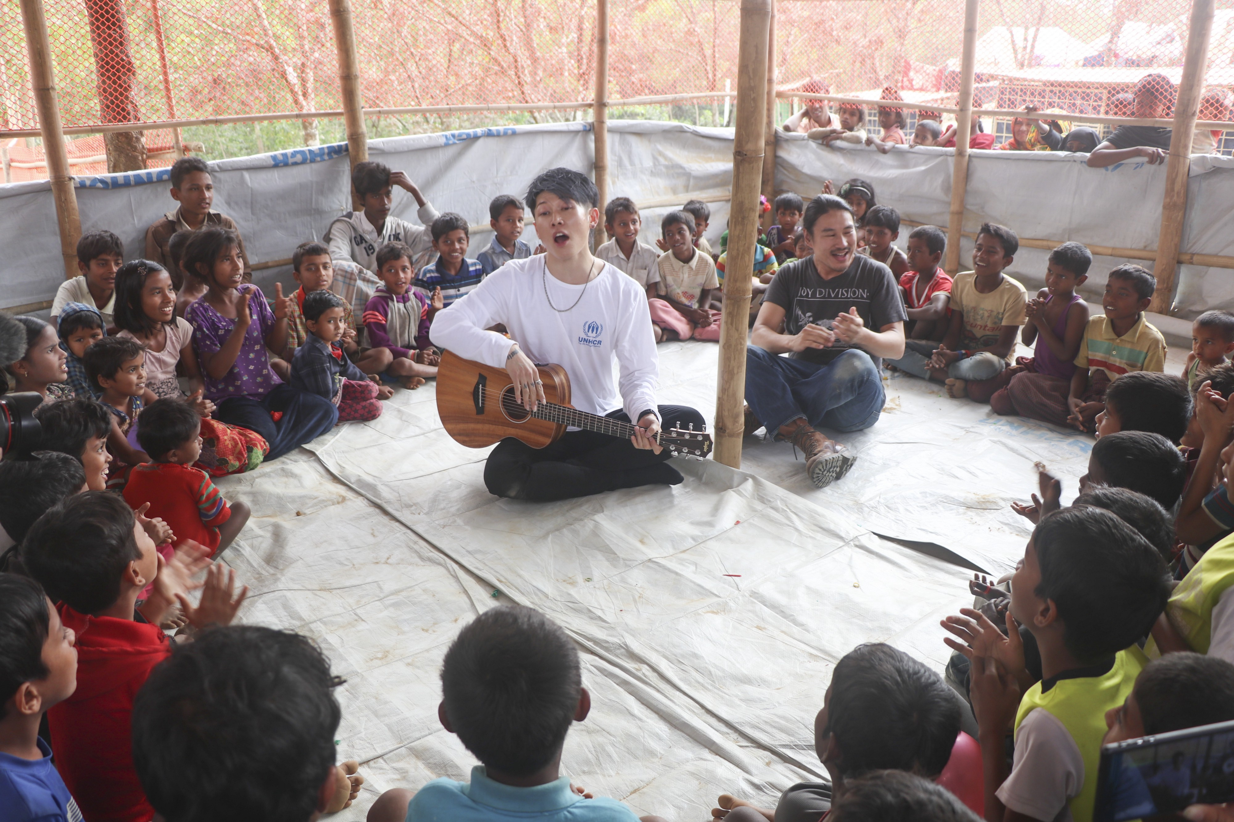 Music Fatherhood And The View From The Largest Refugee Settlement