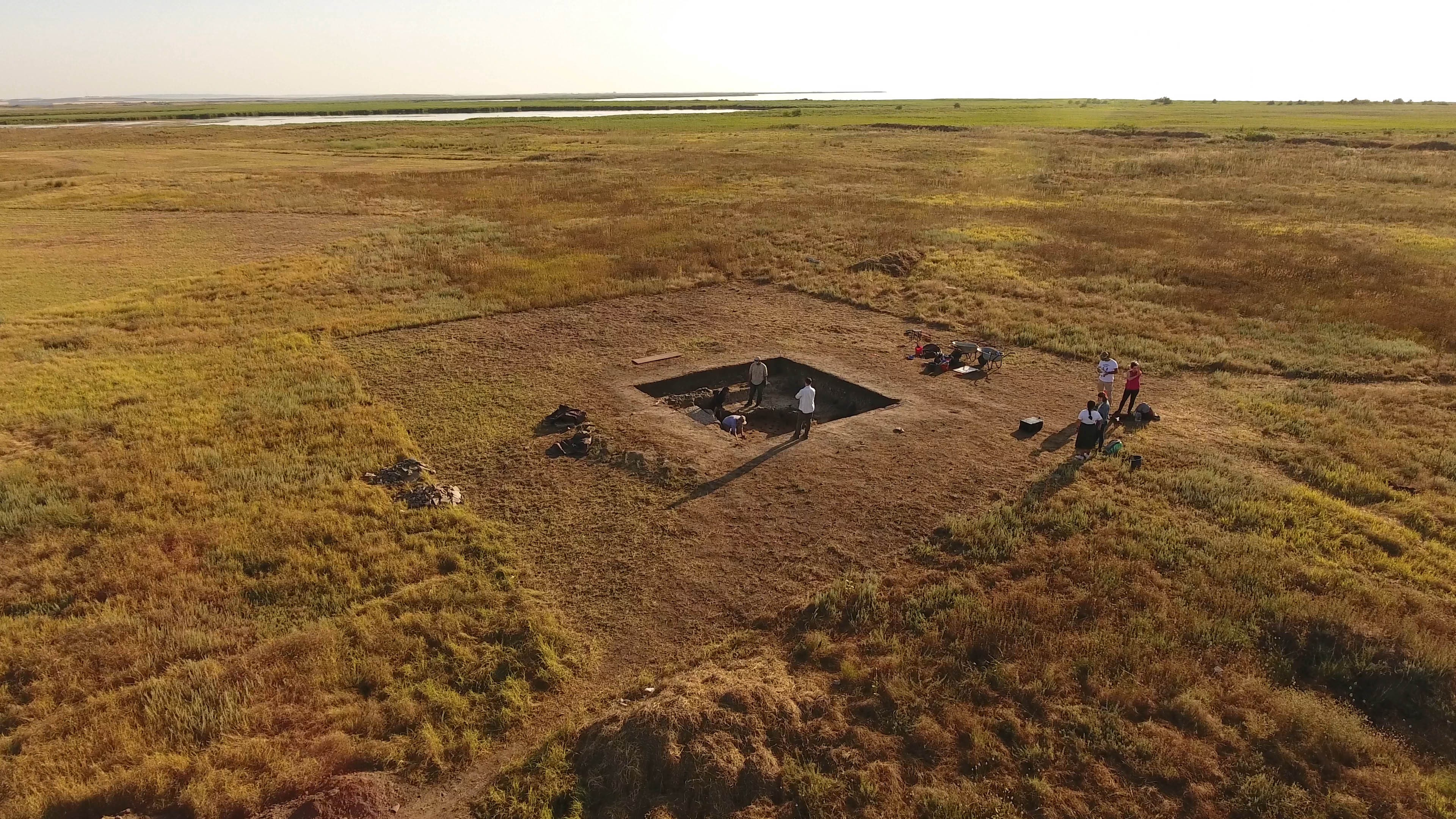 UT archaeologists excavate a field in Romania that was once the site of the ancient Histria civilization.