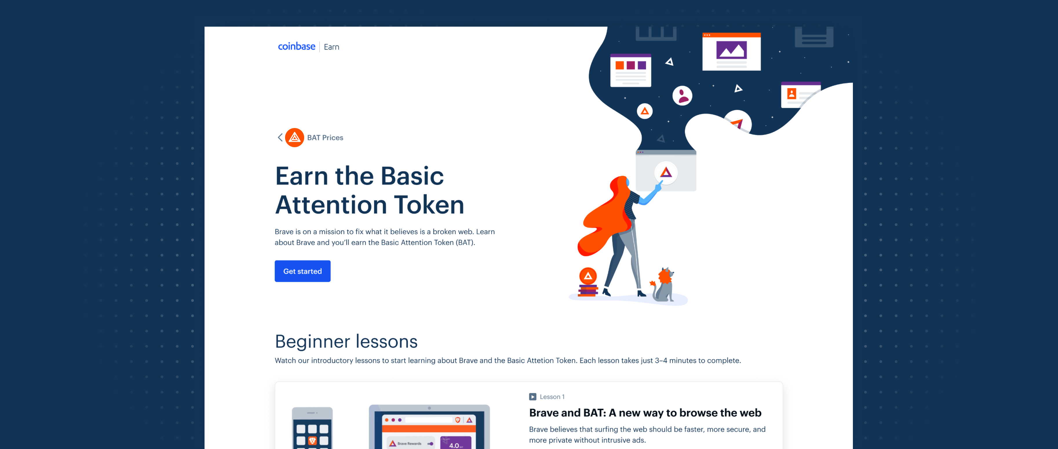 Earn BAT while trying out the blockchain-friendly Brave browser