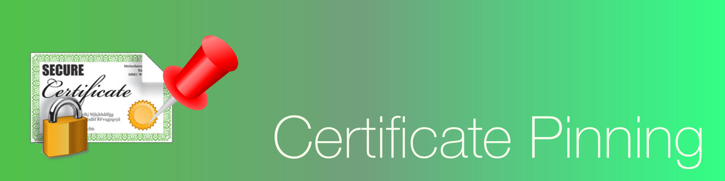 Certificate pinning technique on iOS - Anderson Santos