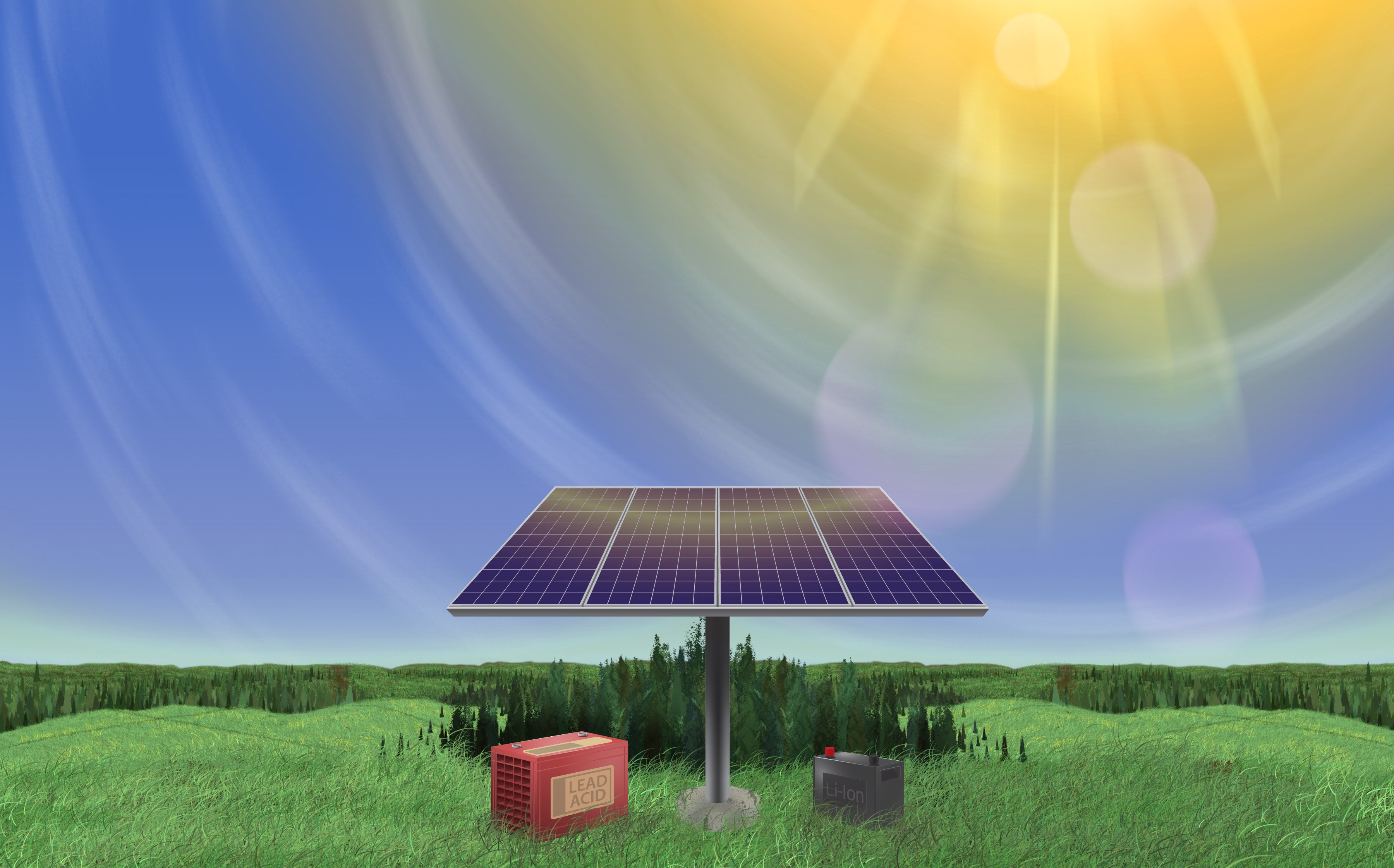 Battery Showdown: Lead-Acid vs  Lithium-Ion - Solar Micro Grid - Medium