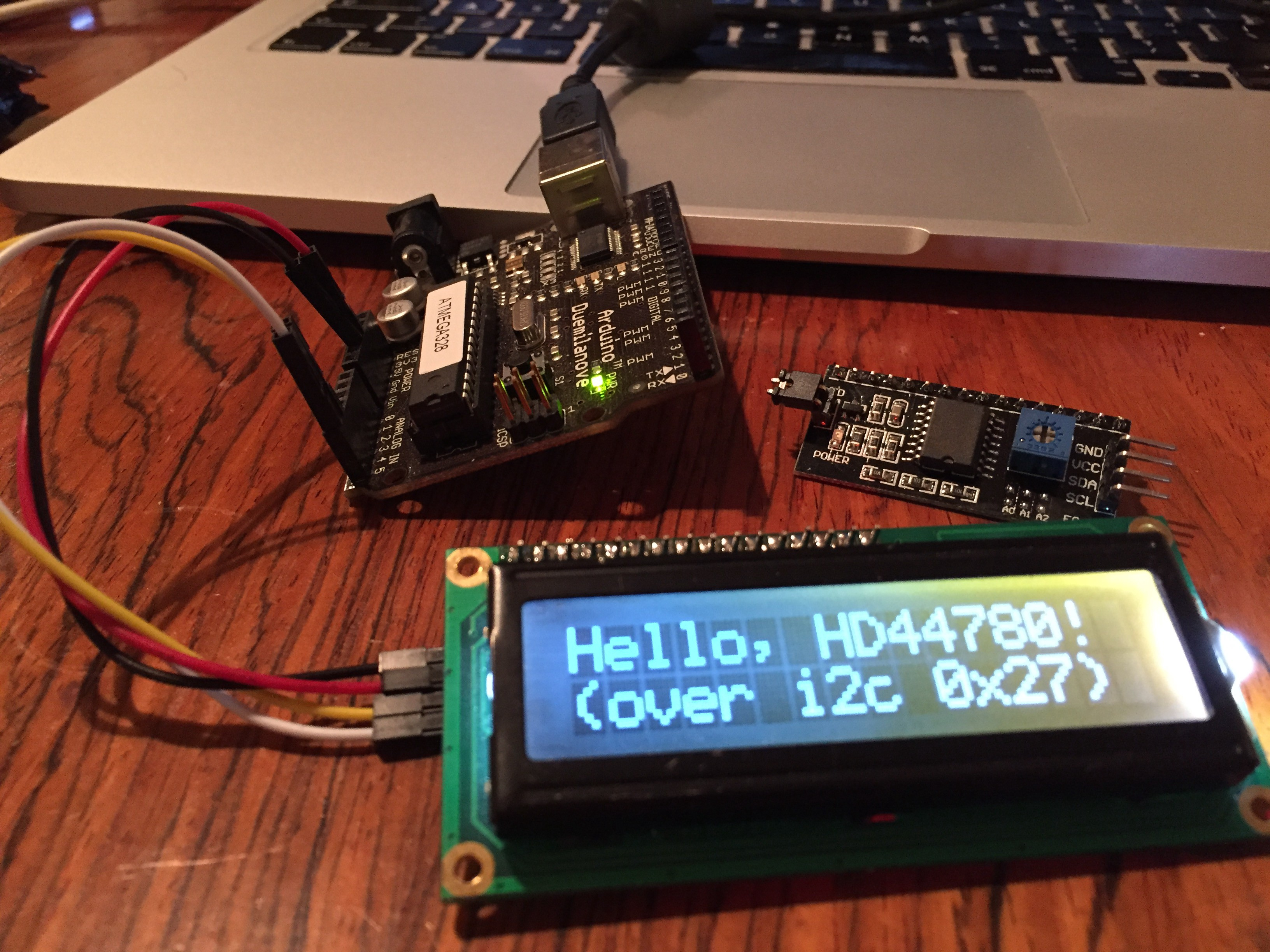Arduino + cheap i2c LCD Backpack - Ubi de Feo - Medium