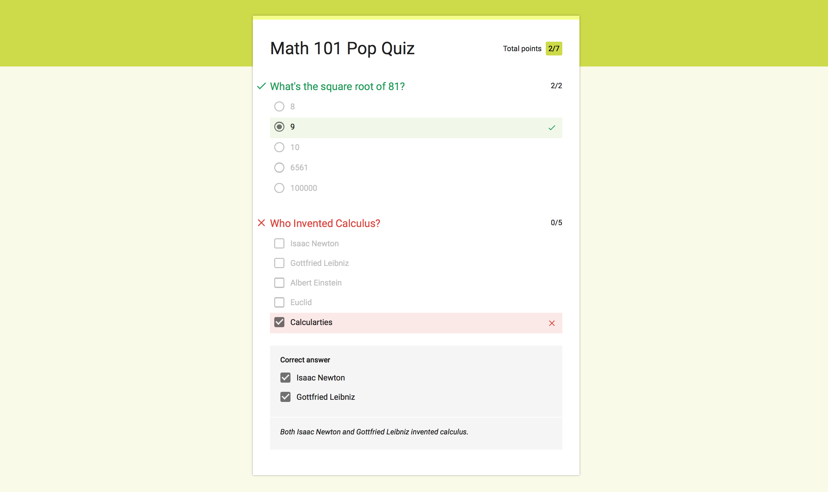 How to Make a Self-Grading Quiz for Free with Google Quizzes