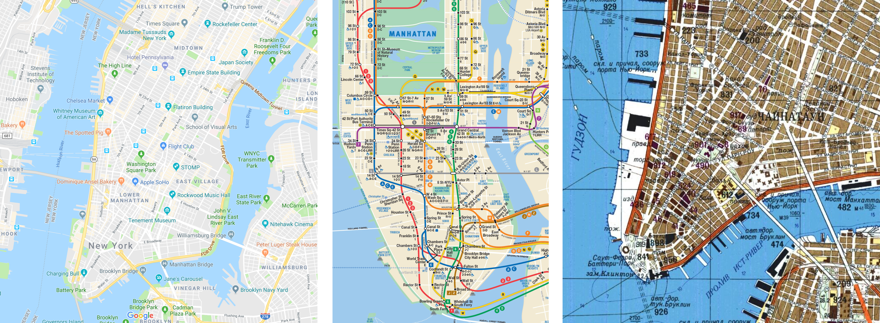 The Evolution of Map Design: From Medieval Latin to Google Maps