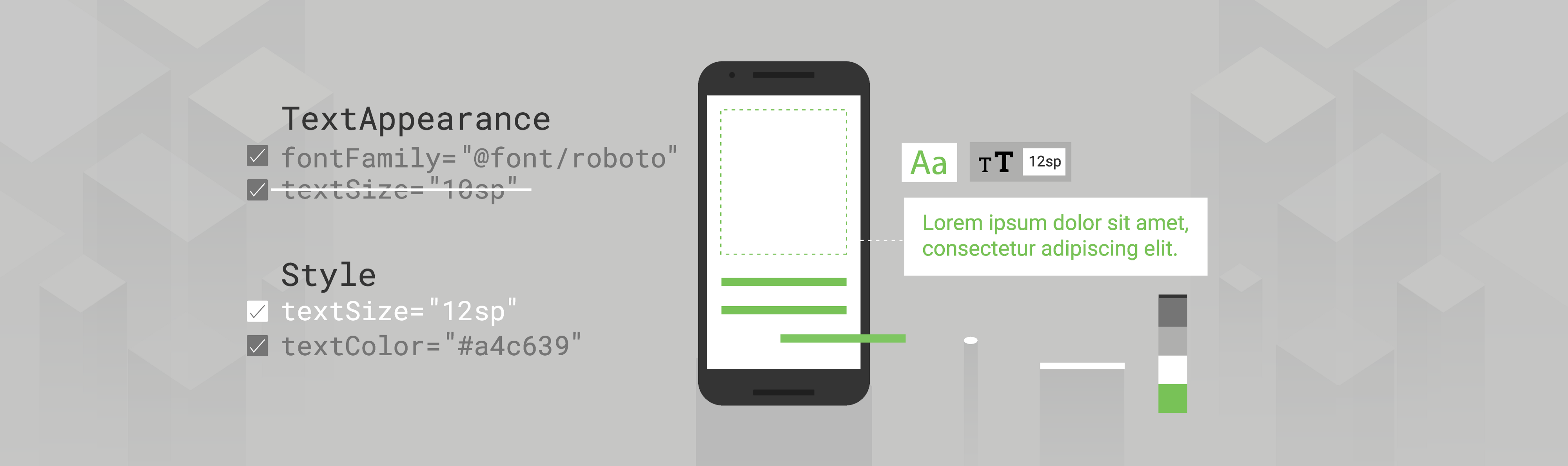 What's your text's appearance? - Android Developers - Medium