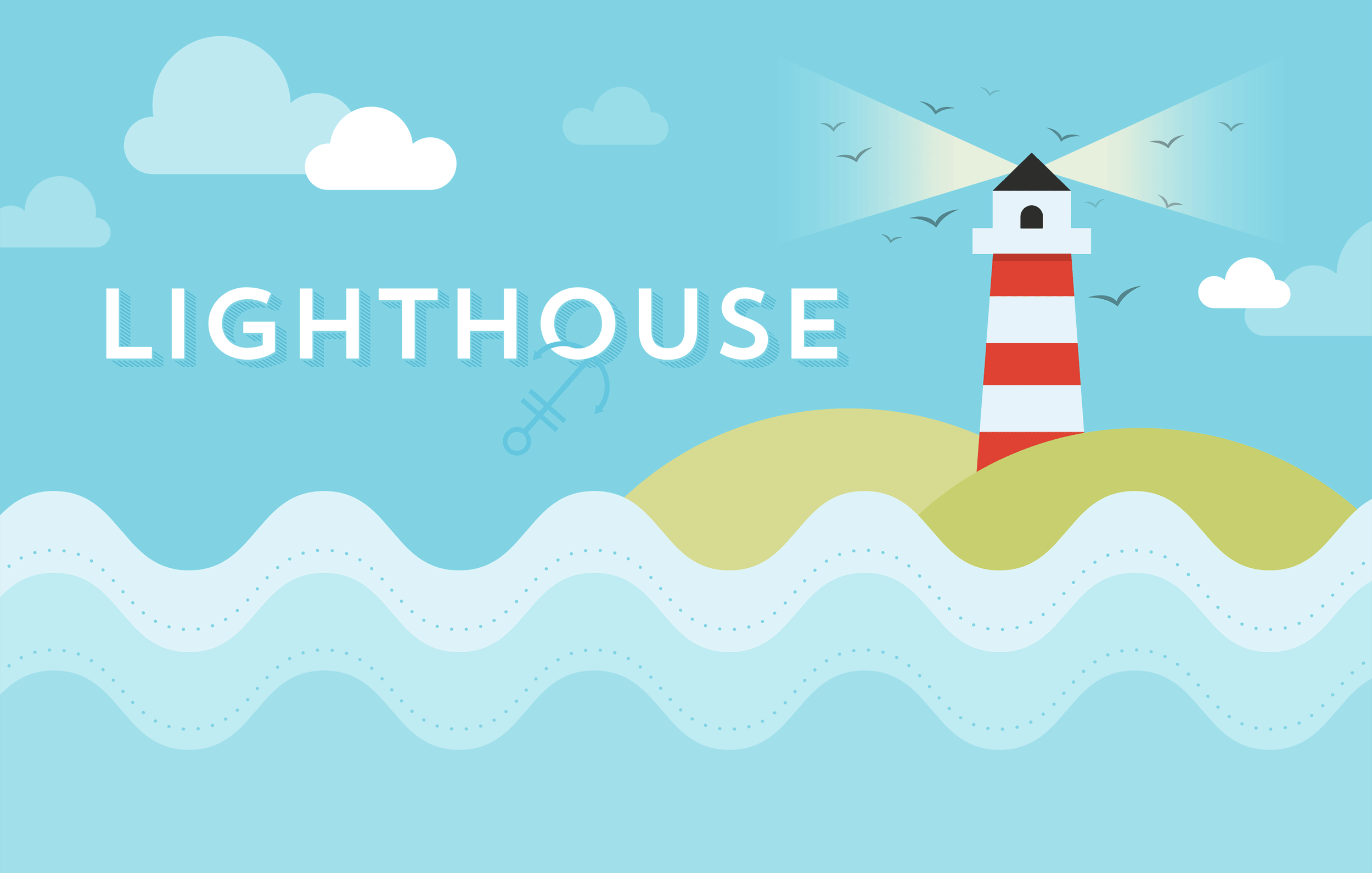 Create a lighthouse in Adobe Illustrator - Prototypr