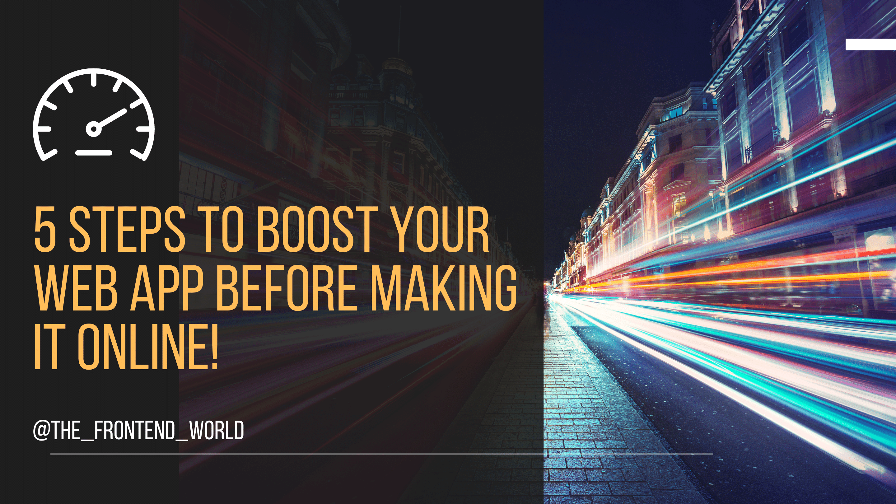 How to Boost Your Website Speed Before Making it Online?