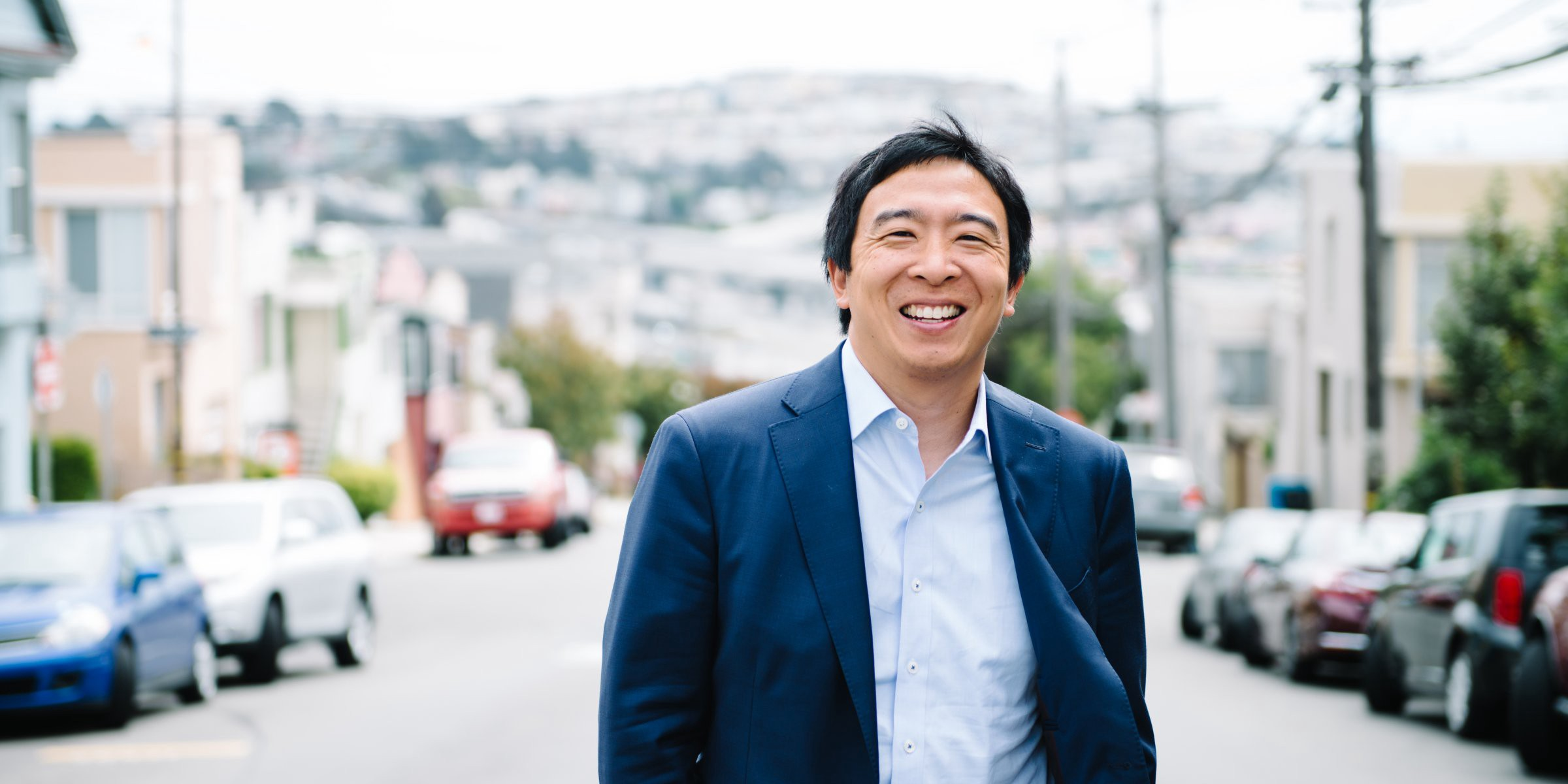 Picture of presidential candidate Andrew Yang