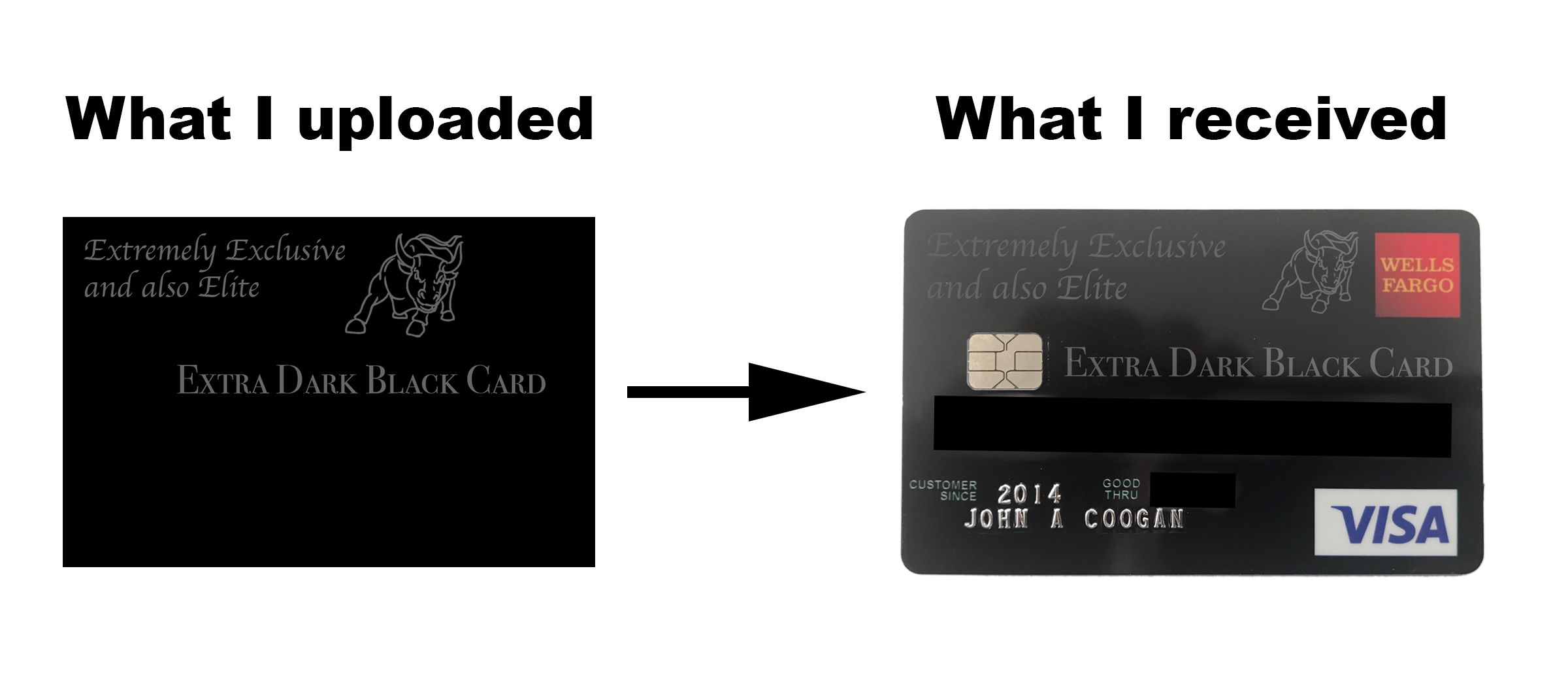 Best Credit Card Ever: The Extra Dark Black Card  by John Coogan