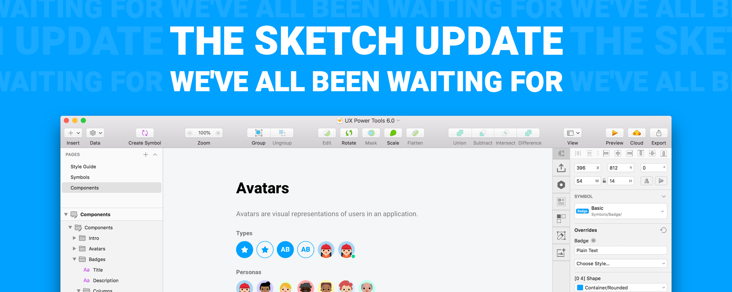 The Sketch Update We've All Been Waiting For, plus a BRAND