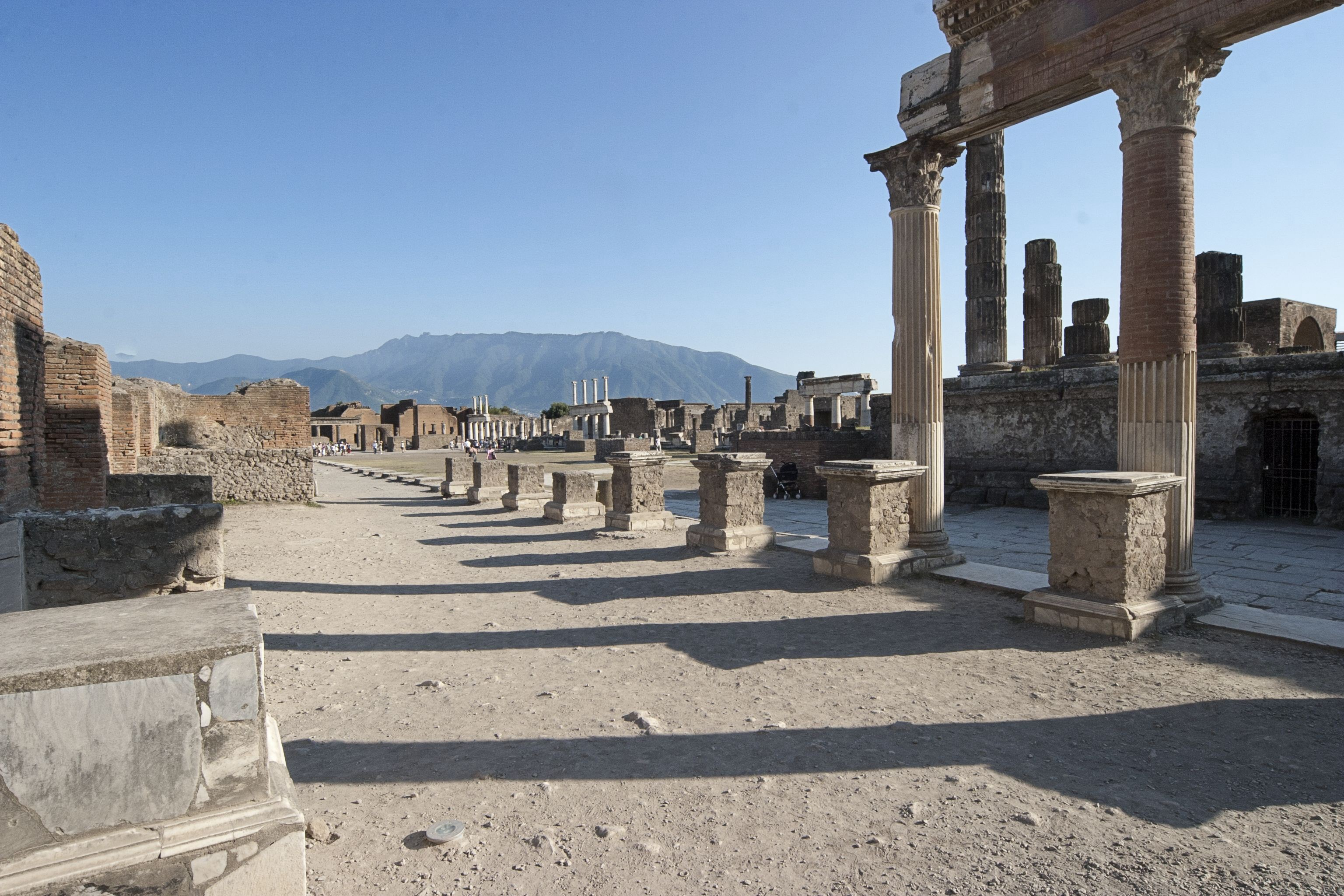 Ruins of Pompeii discovered in 16th Century, after an accidental disovery