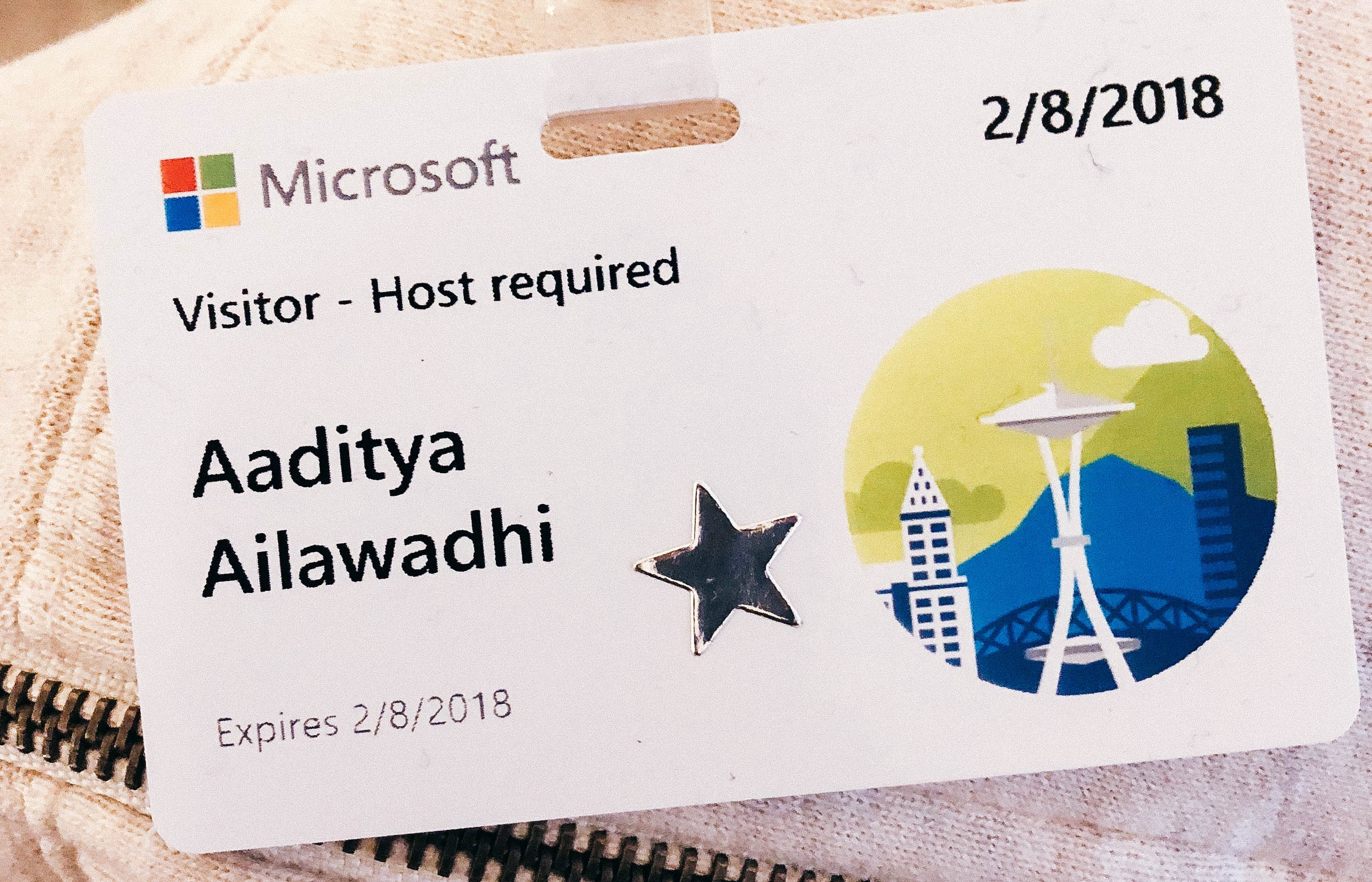Why I wanted to Intern at Microsoft as a designer, and how I made it