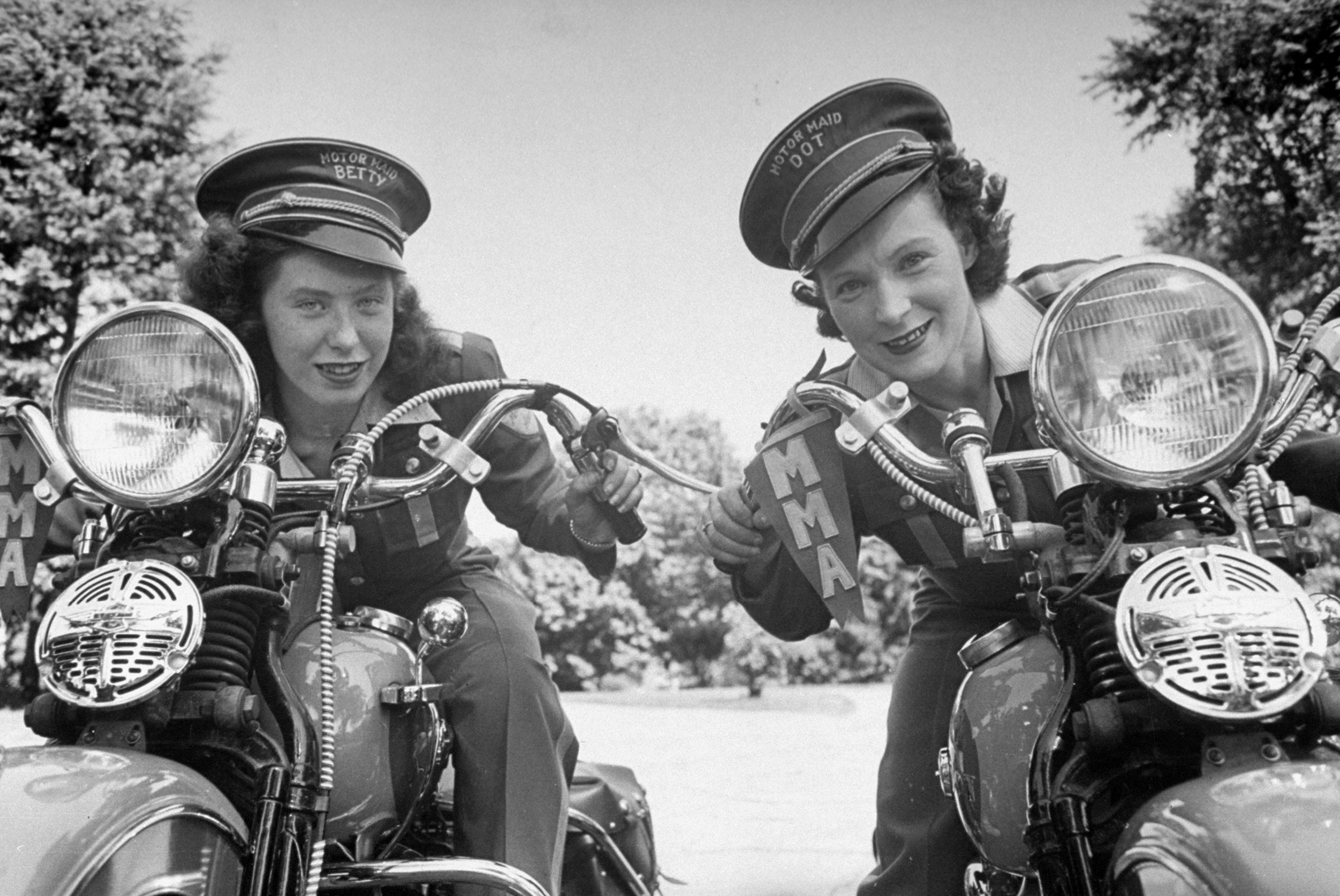 The oldest women's motorcycle club is strictly feminine and also badass