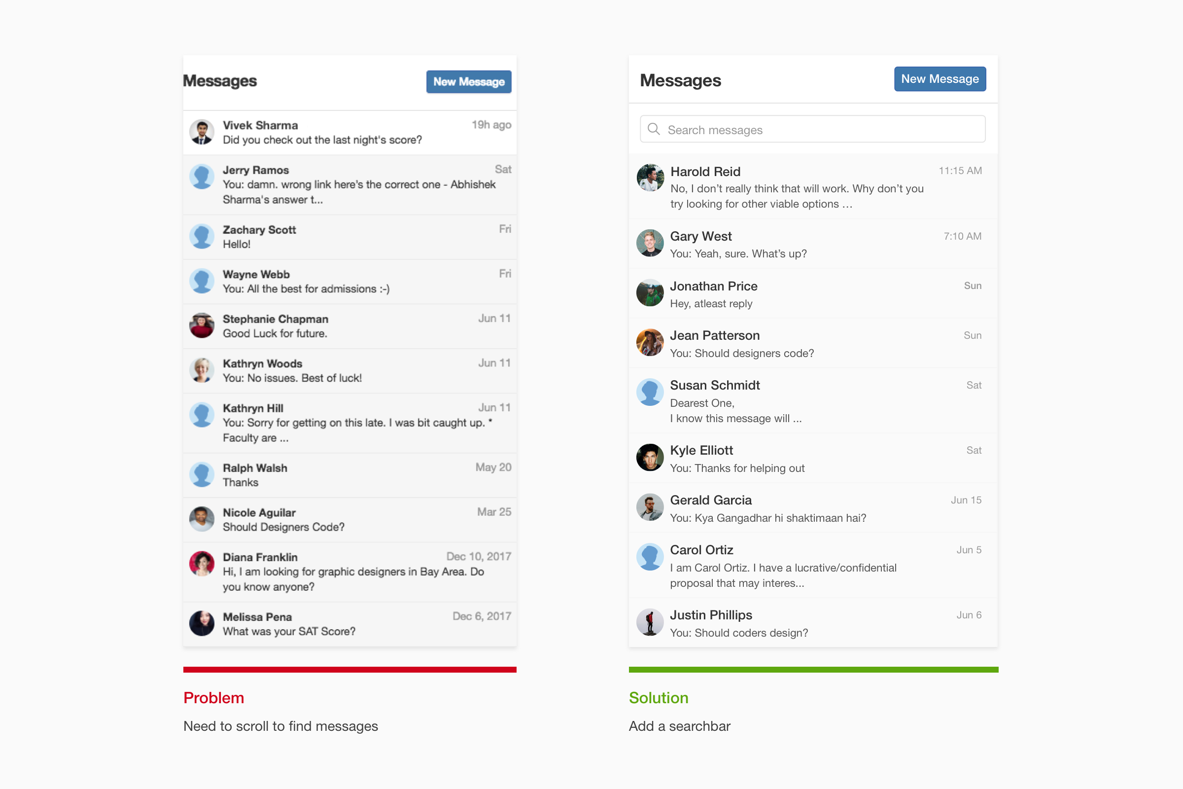 Enhancing Quora's messaging UX - UX Collective