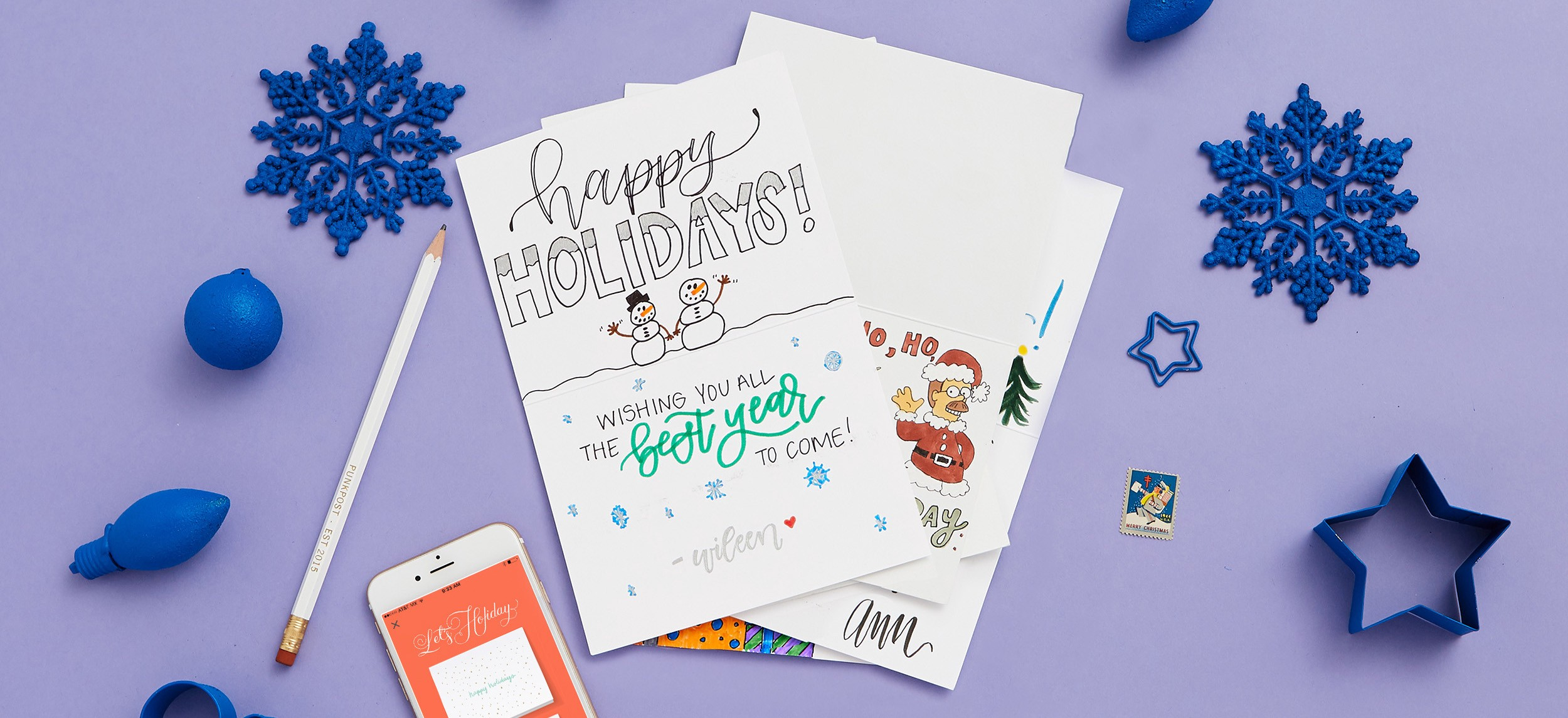 Holiday Cards Online >> What To Write In Your Holiday Cards Punkpost Medium