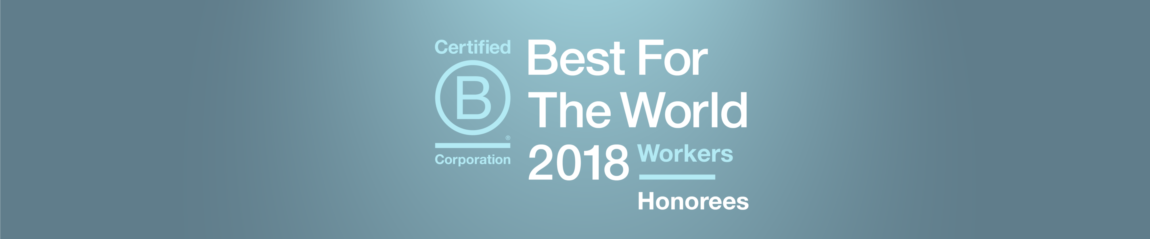2018 Best For the World: Workers Honorees - B the Change