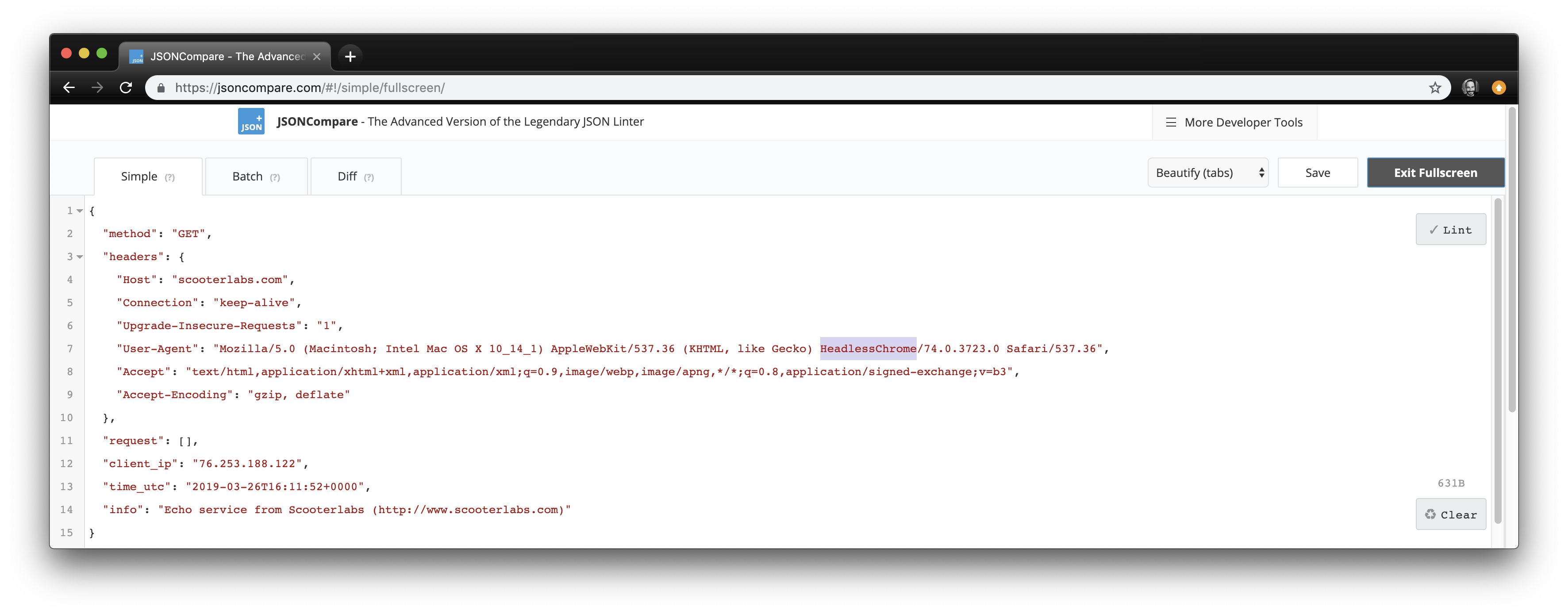 """How to bypass """"Access Denied"""" pages when using Headless Chrome"""
