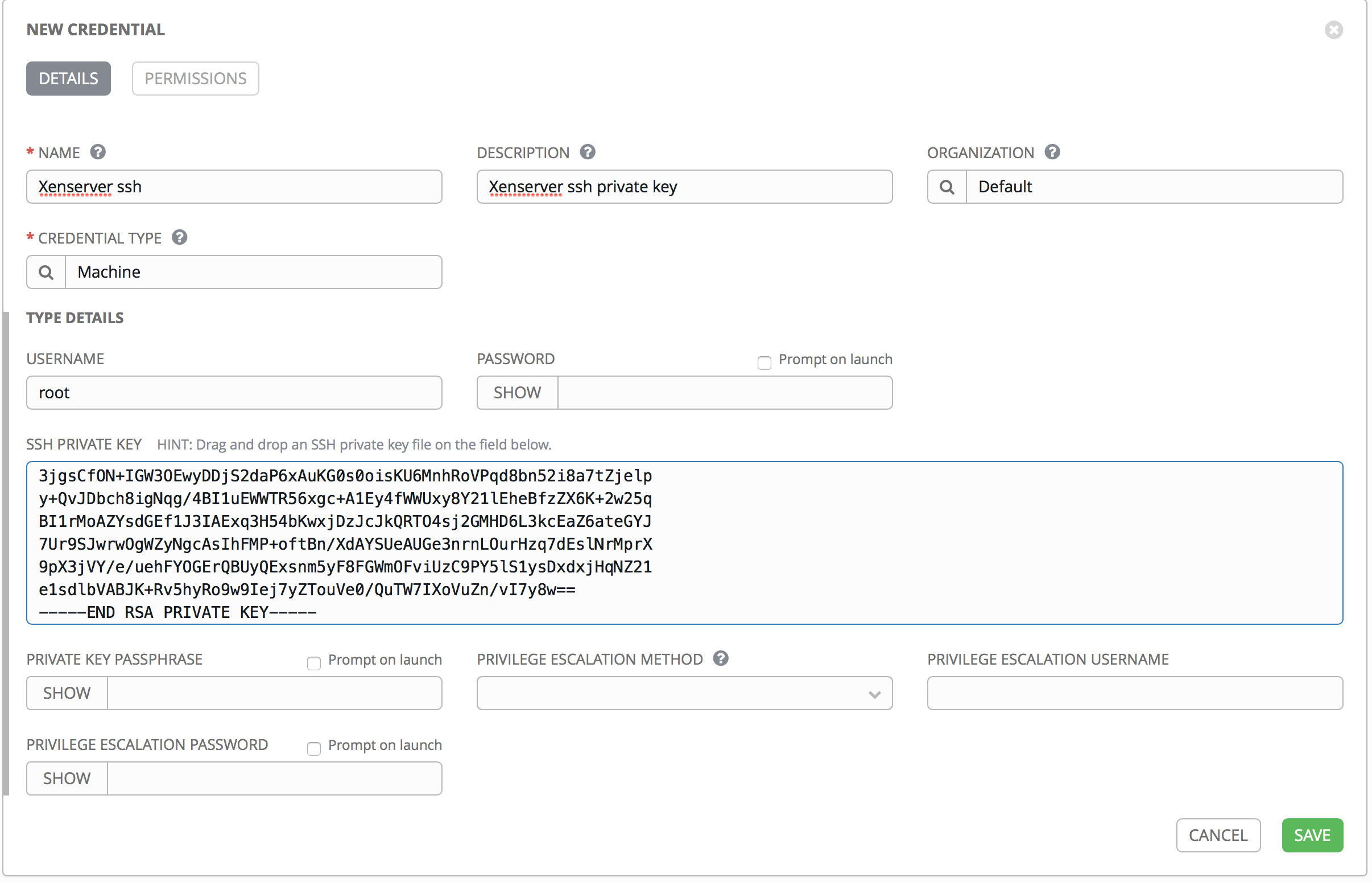 Using Ansible and AWX to deploy VMs on Xenserver - Juri