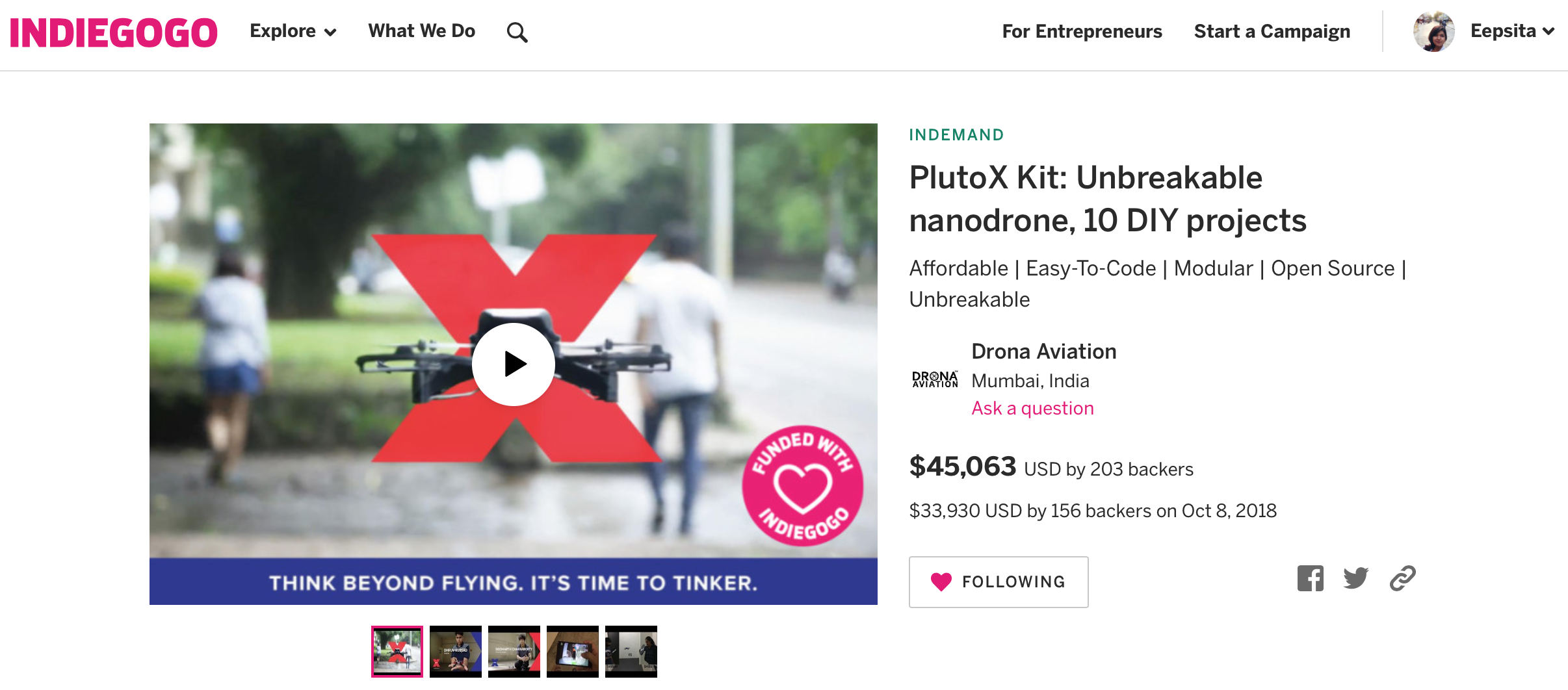 PlutoX: The Ultimate Aerial Robotics Kit for Makers