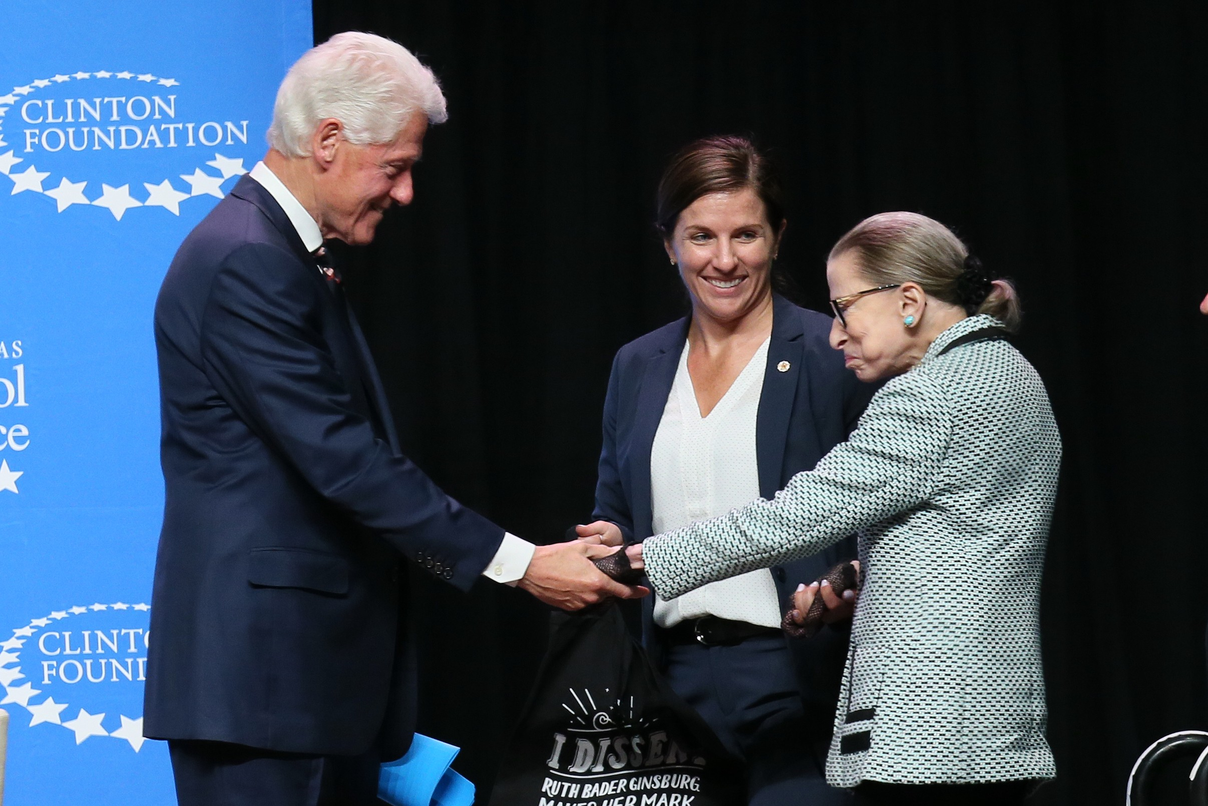 5 Inspiring Quotes From Justice Ruth Bader Ginsburg S Lecture In Little Rock Arkansas By Clinton Foundation The Clinton Foundation