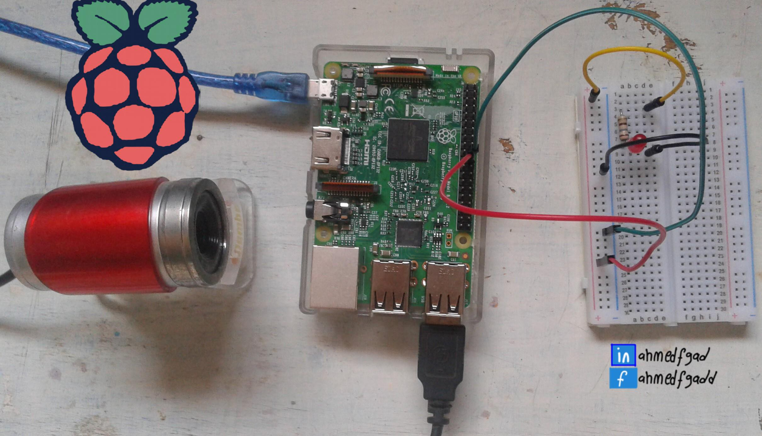 Building Surveillance System using USB Camera and Wireless
