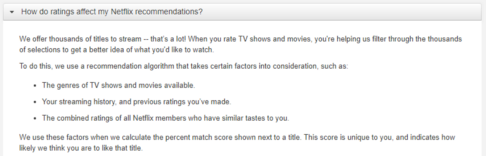 Netflix recommendations are broken… There's an alternative