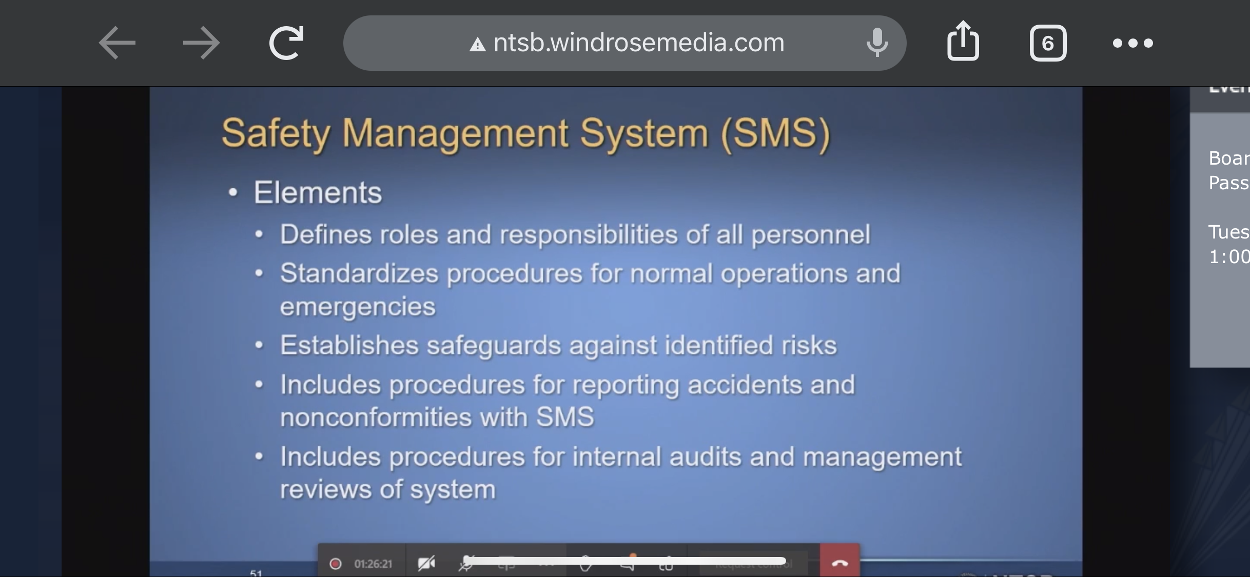 About The Safety Management System (SMS) on maritime vessels