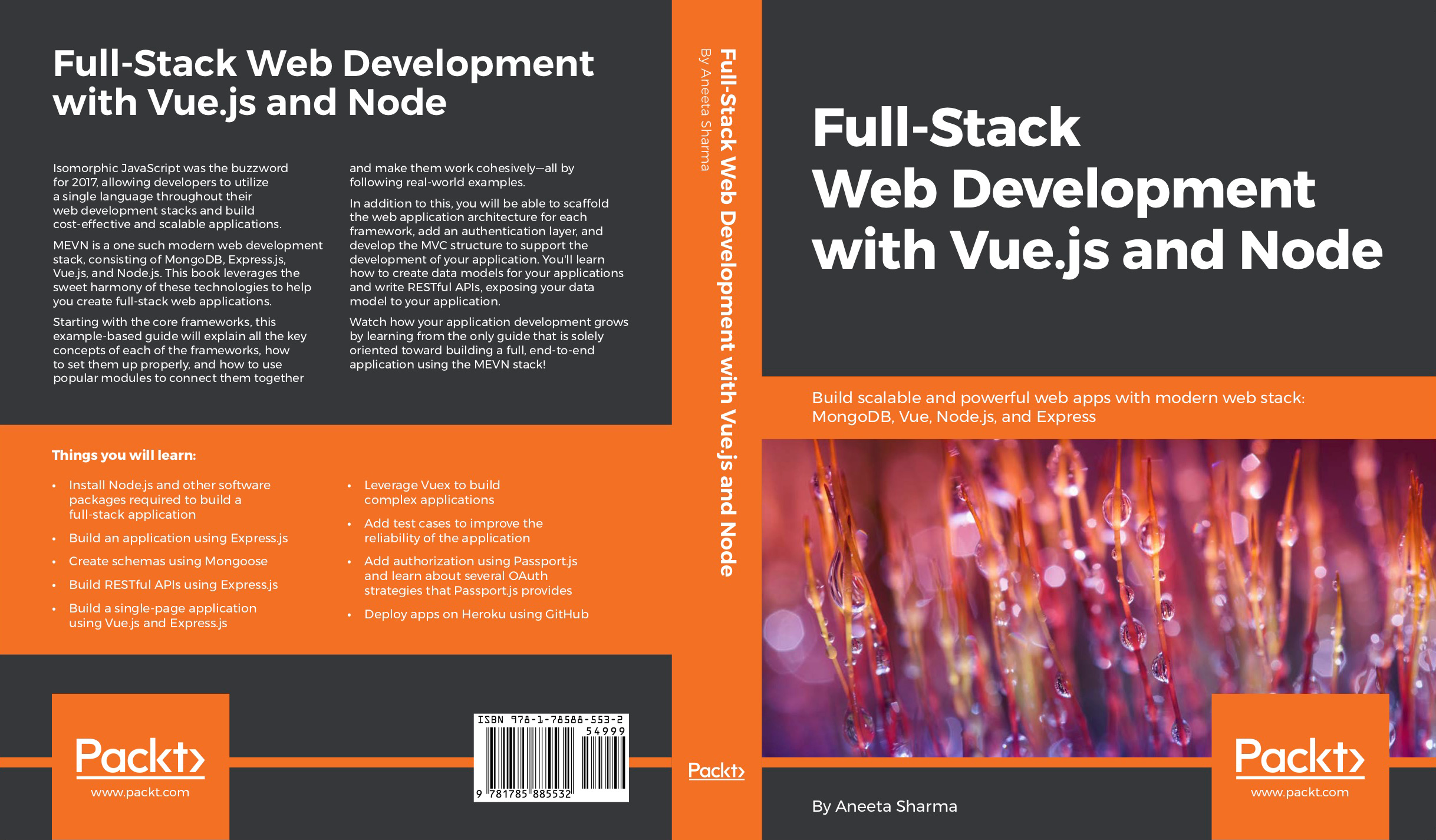 Inside the book — Full-Stack Web Development with Vue js and