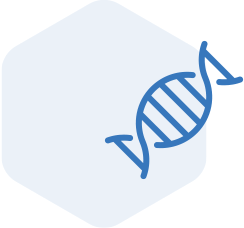 DNA helix graphic
