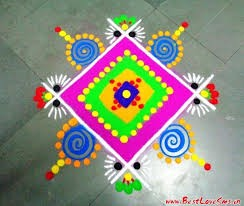 Top 40+ Latest and Simple Rangoli Designs For Diwali 2019