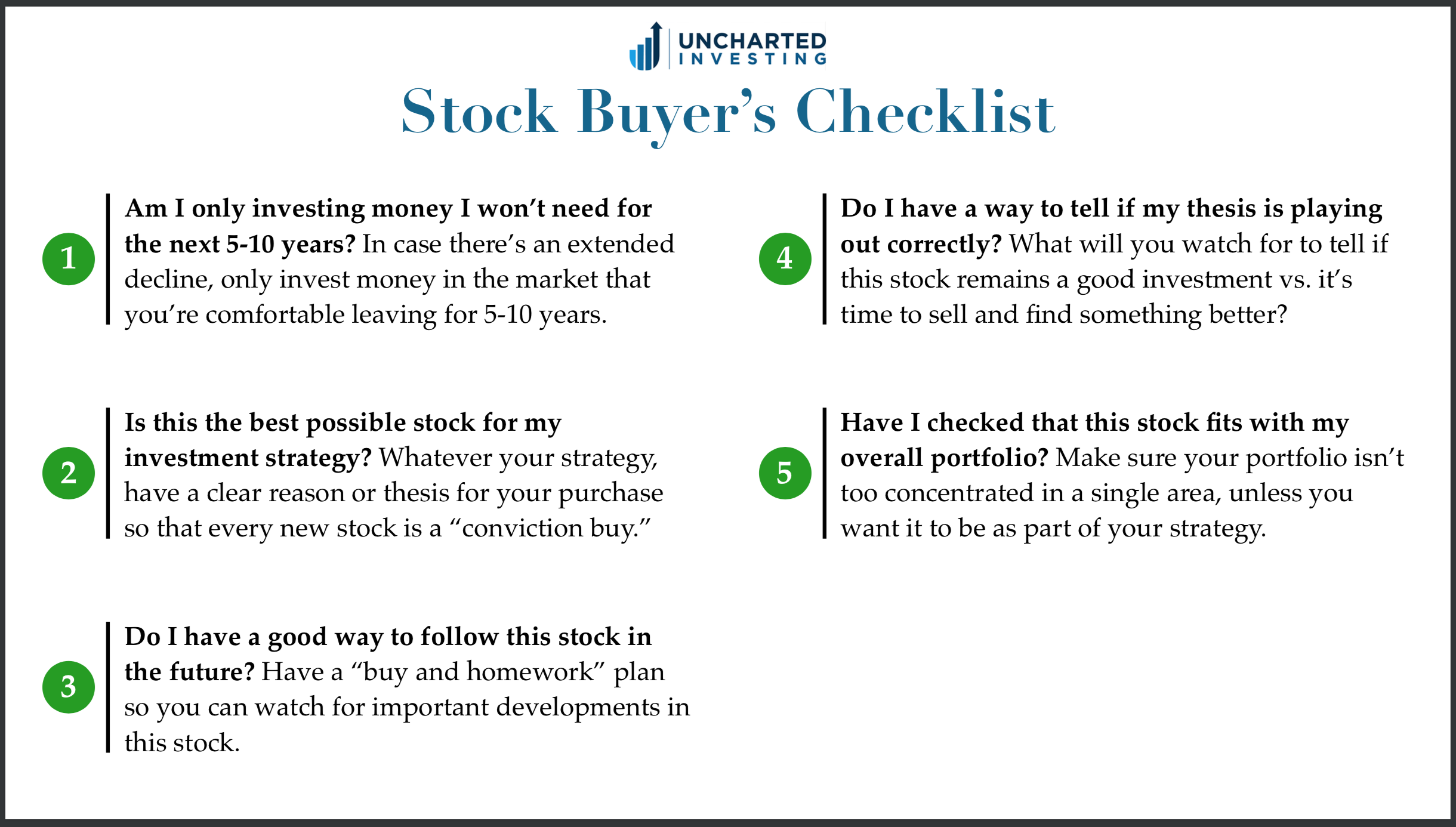 When Should You A Stock With Cheat Sheet Better
