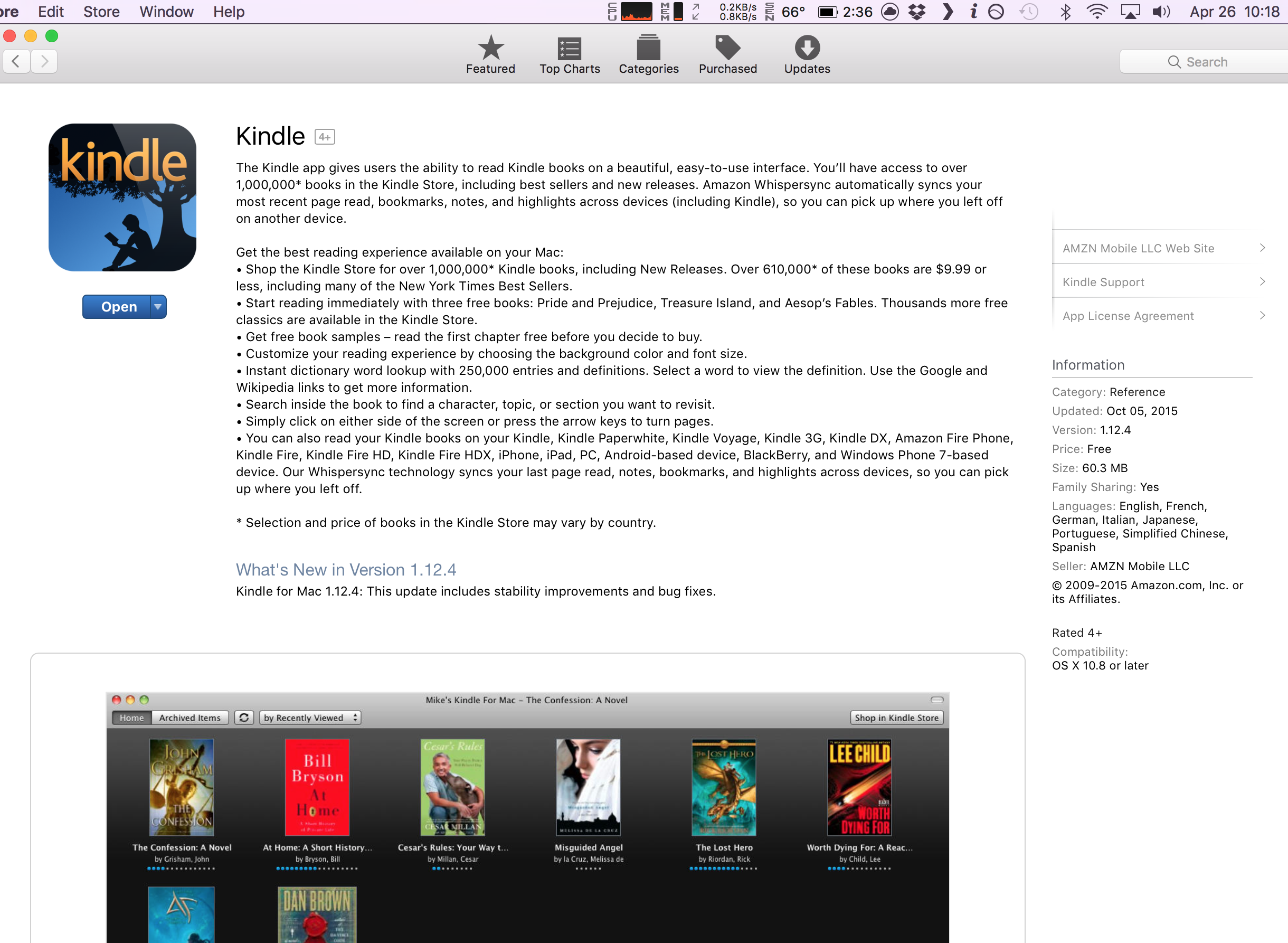 Kindle For Mac Failure To Update Nicholas Wong Medium