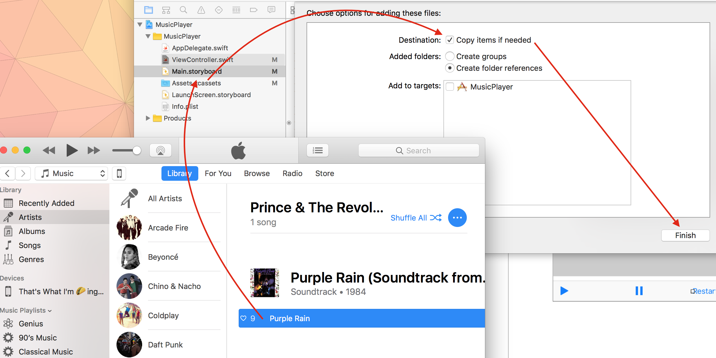 Creating a Music Player App in Swift 3 - Yay It's Erica - Medium
