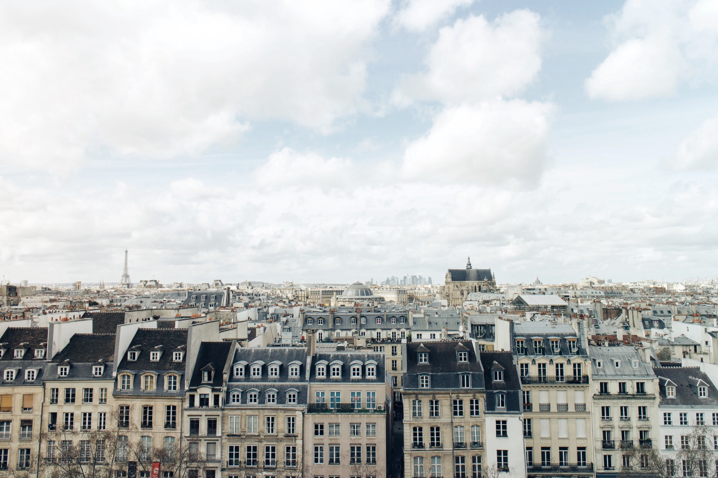 A French city scene