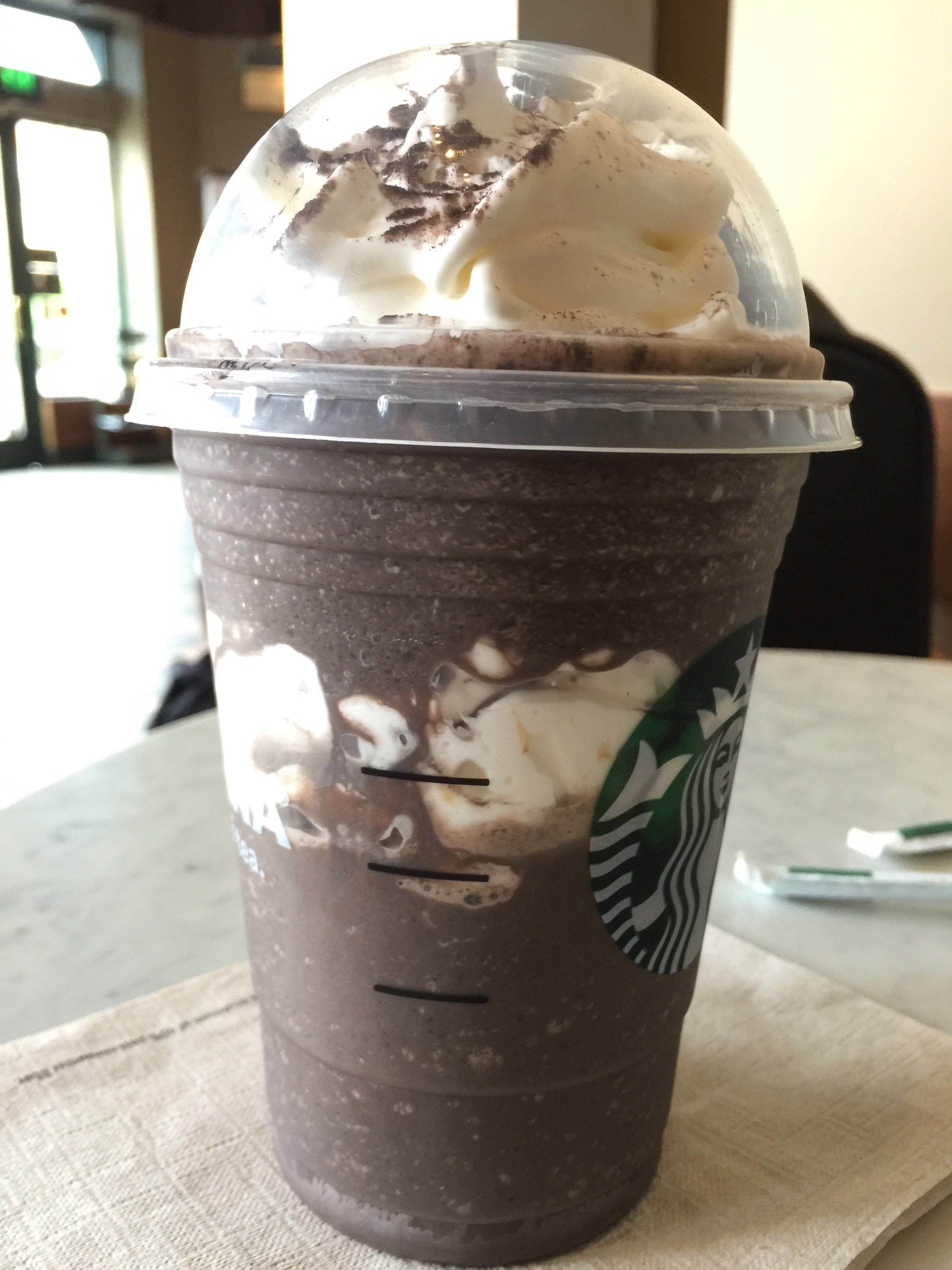Starbucks Midnight Mint Mocha Frappuccino Review Very Smooth