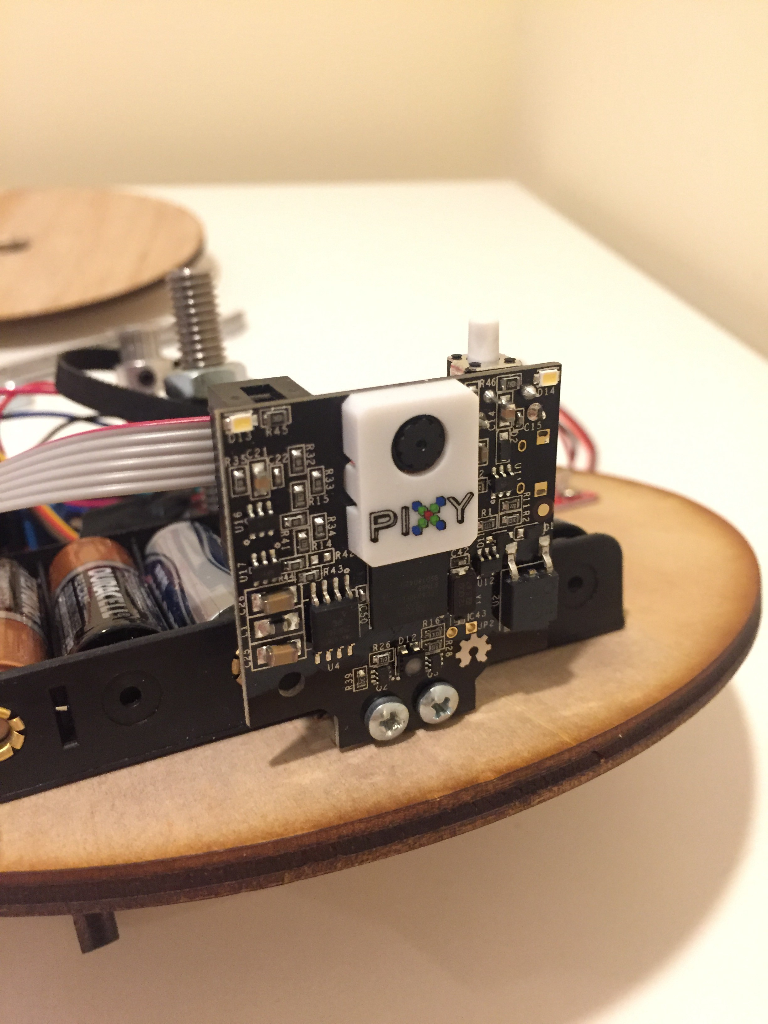 Auto Tracking Mounting Plate using Pixycam - Mark Butzer