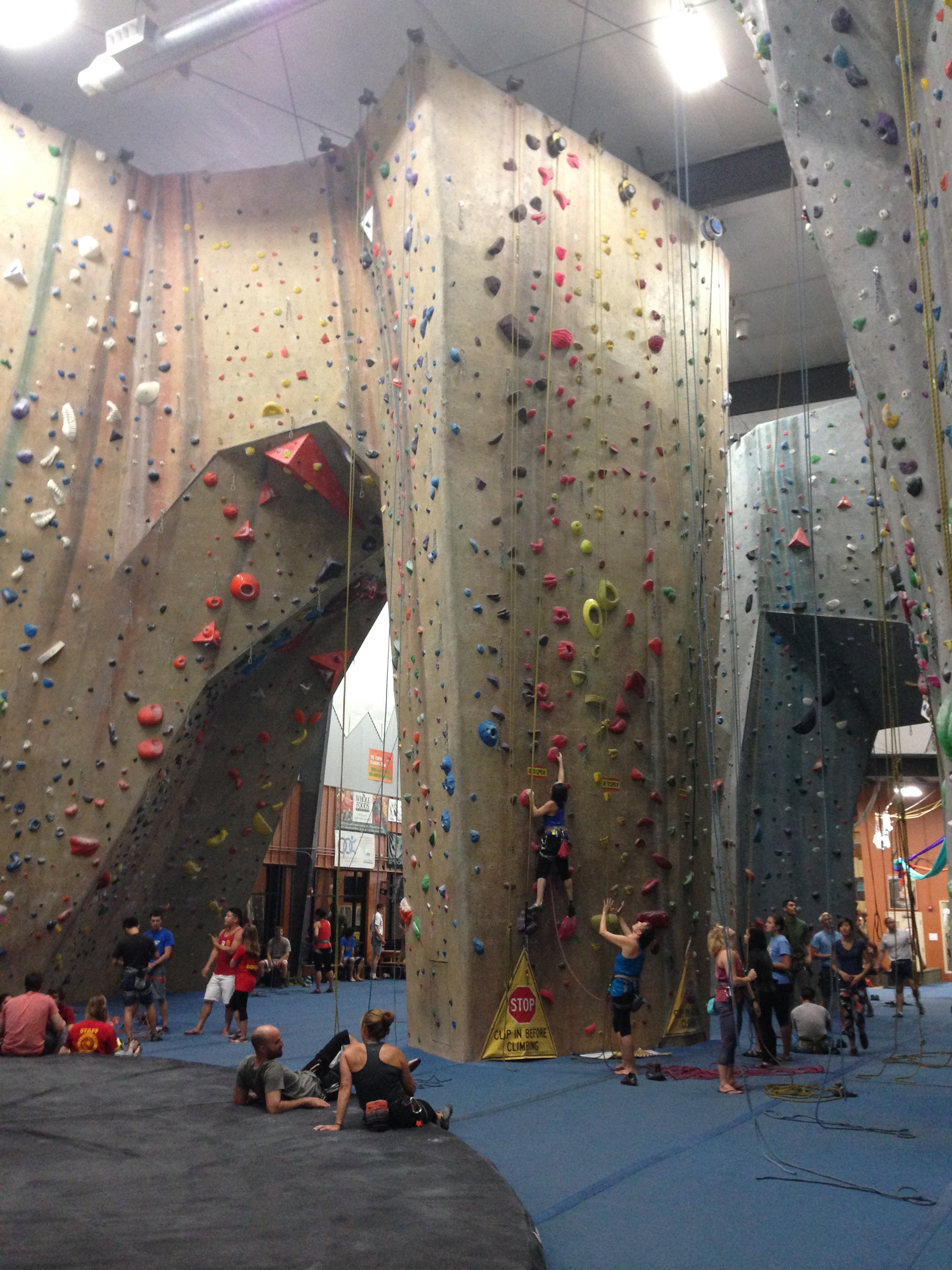 A Year Of Indoor Rock Climbing Twice A Week In The Past Nine Months I By Yu Z Medium