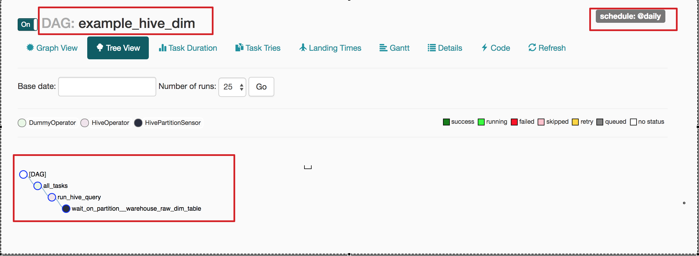Dynamic DAG creation in Airflow for HIVE Queries - Rajnish
