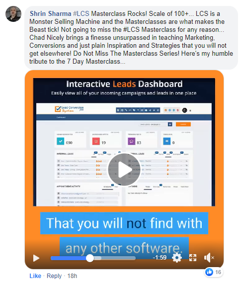 Lead Conversion Squared(LCS2)Review:Customers' Testimonials