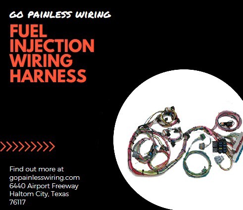 Fuel Injection Wiring Harness at Go Painless Wiring's online ... on painless switch panel, painless fuse box, painless lt1 harness,