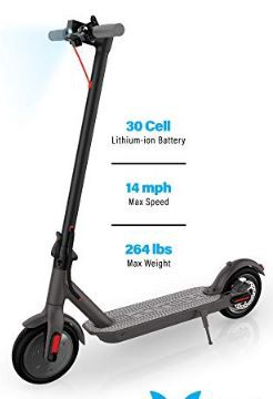 HOVER-1 Journey Electric Folding Scooter (Best Electric Scooter for Heavy Adults)