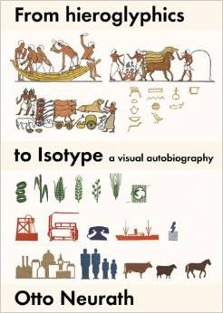 Book cover: From hieroglyphics to Isotype by Otto Neurath.